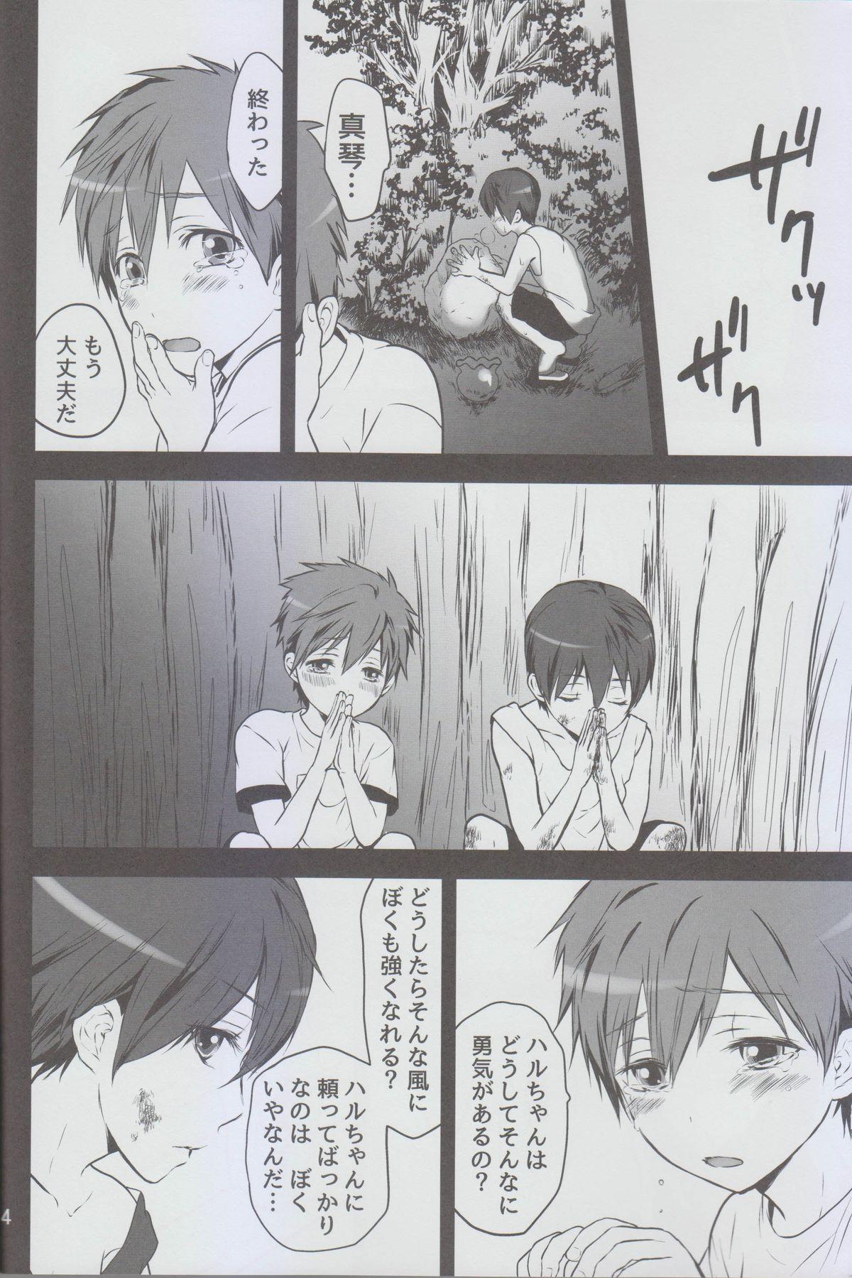 Okubyou na Boku no Kingyo wa Natsu ni Nemuri, Kimi wa Kesshite Nakanai. 2