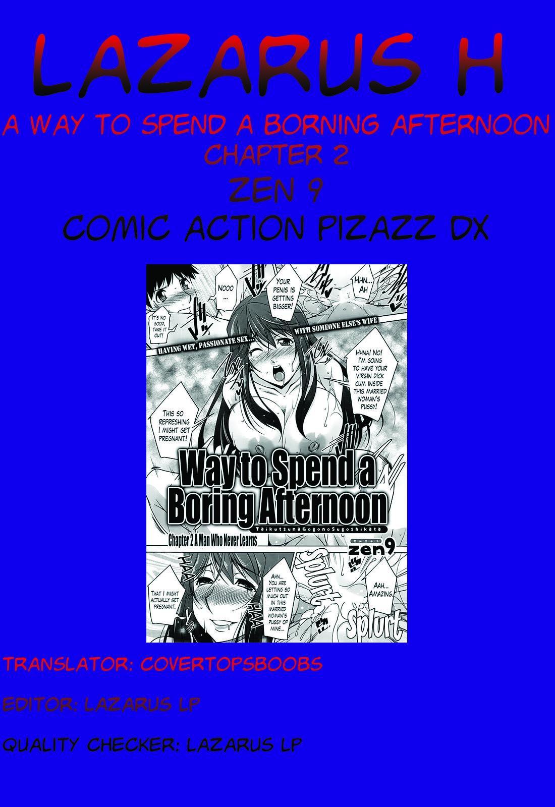 [Zen9] Taikutsu na Gogo no Sugoshikata Ch. 1-4   A Way to Spend a Boring Afternoon Ch. 1-4 (Action Pizazz DX 2013-12) [English](hentai2read.com)[Lazarus H] 38