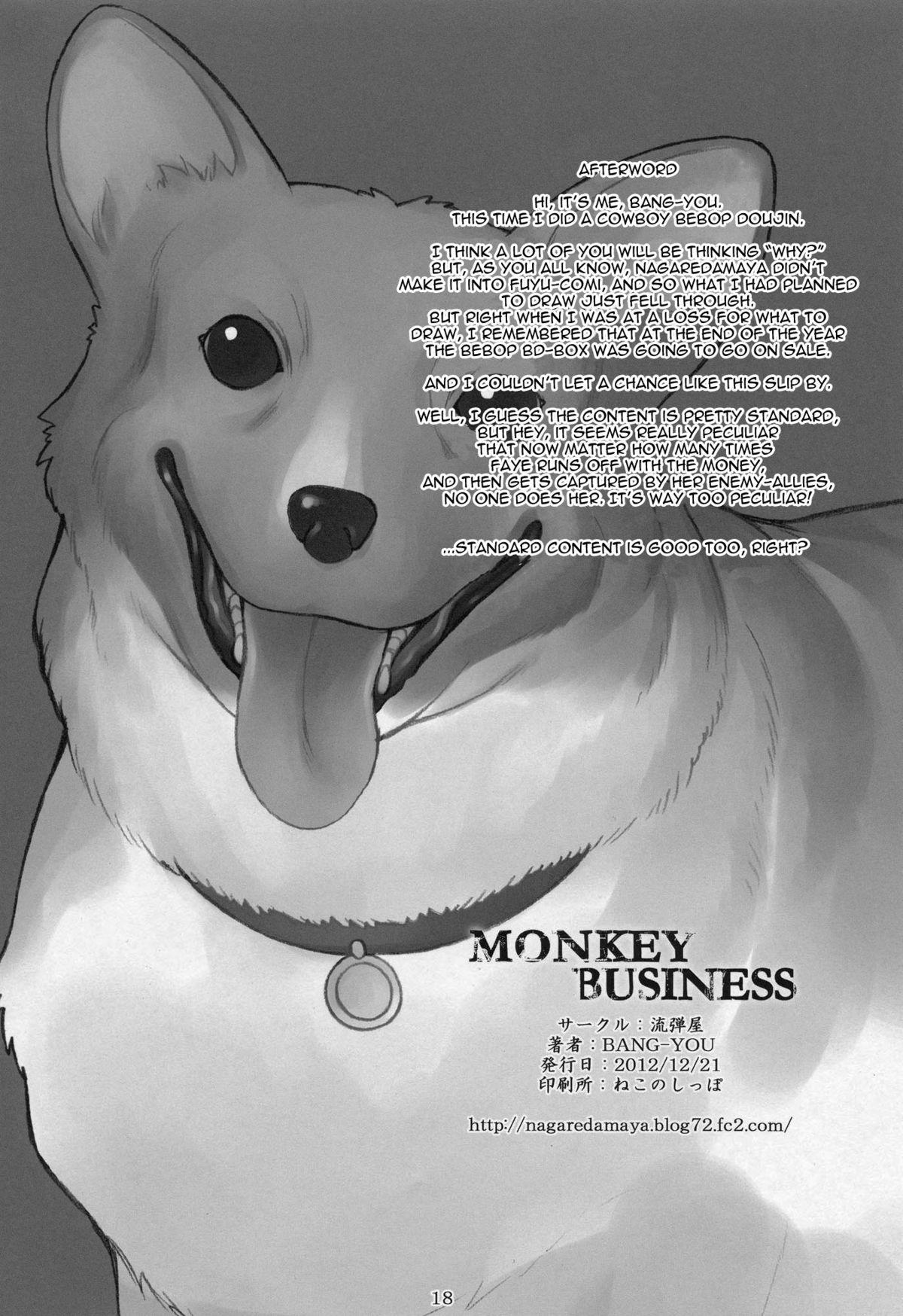 Monkey Business 16
