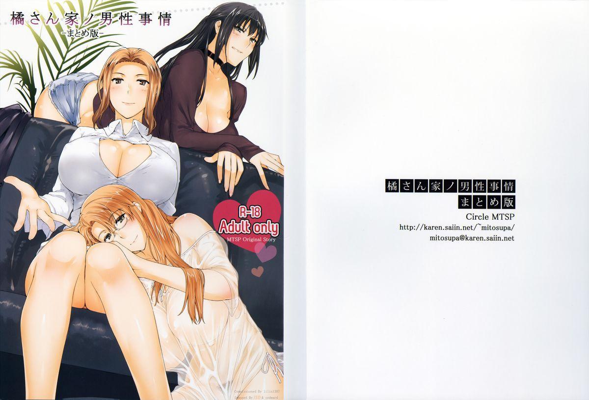 (C86) [MTSP (Jin)] Tachibana-san-chi no Dansei Jijou Matome Ban [Incomplete] 0