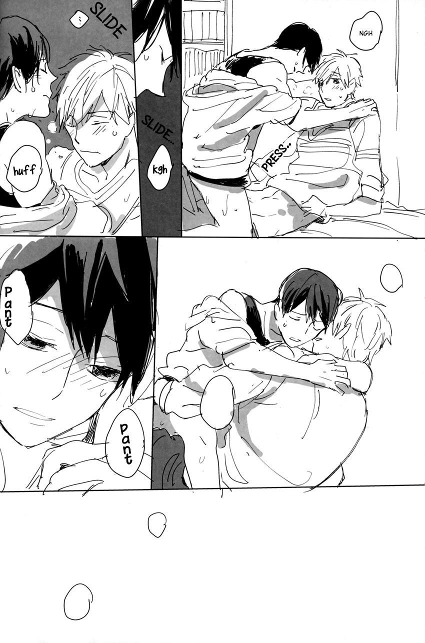 A Book Where Makoto and Haruka are all Lovey Dovey 12