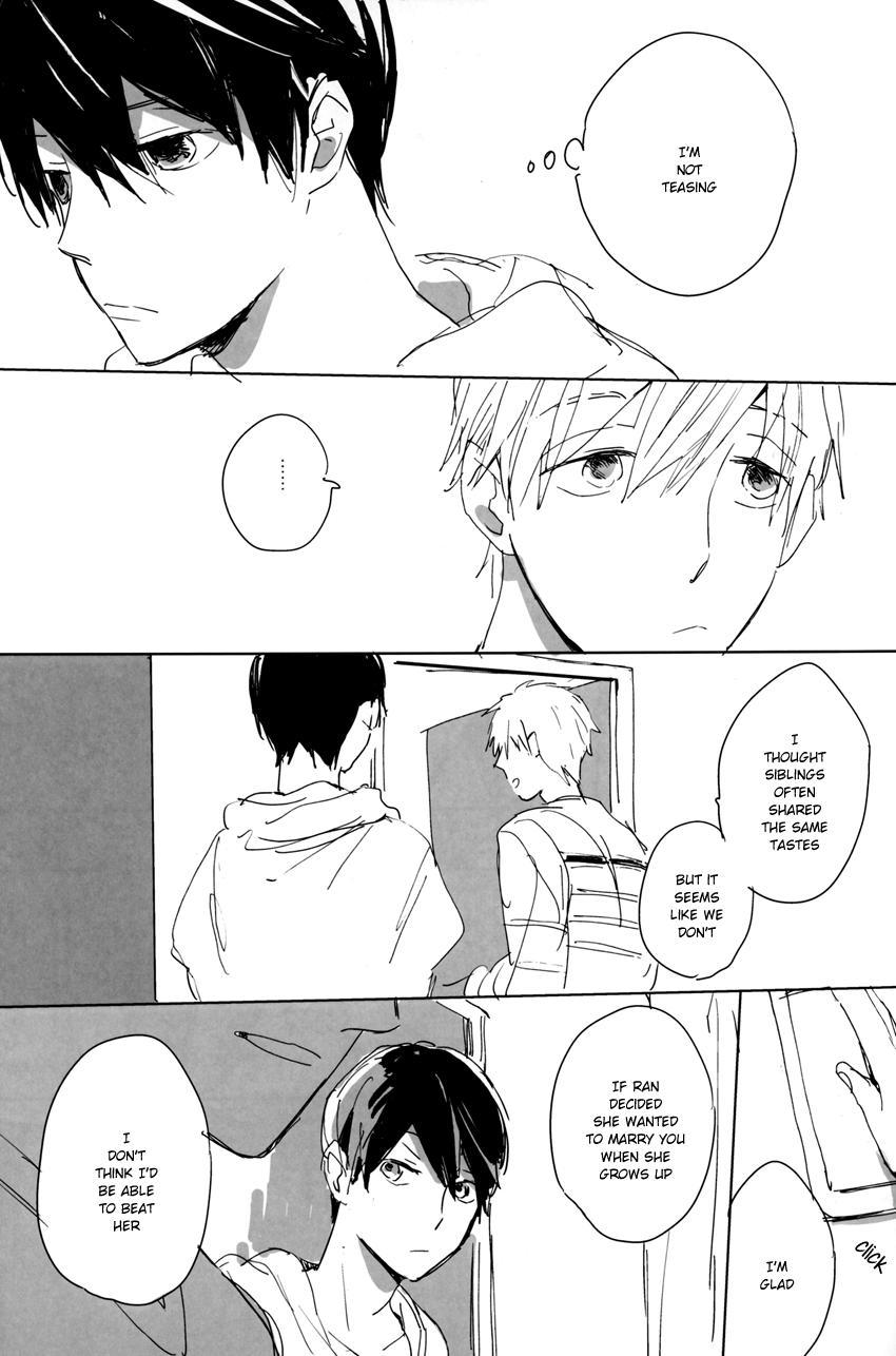 A Book Where Makoto and Haruka are all Lovey Dovey 5