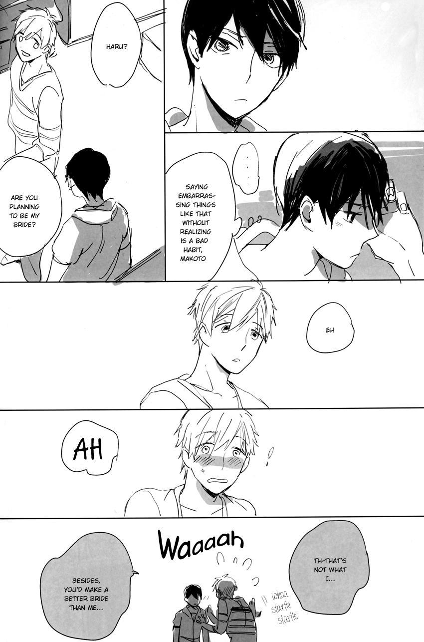 A Book Where Makoto and Haruka are all Lovey Dovey 6