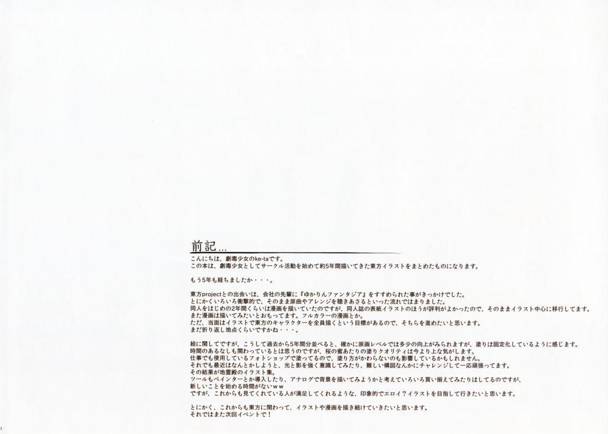 (Shuuki Reitaisai) [Gekidoku Shoujo (ke-ta)] -Ruby- (Touhou Project) 3