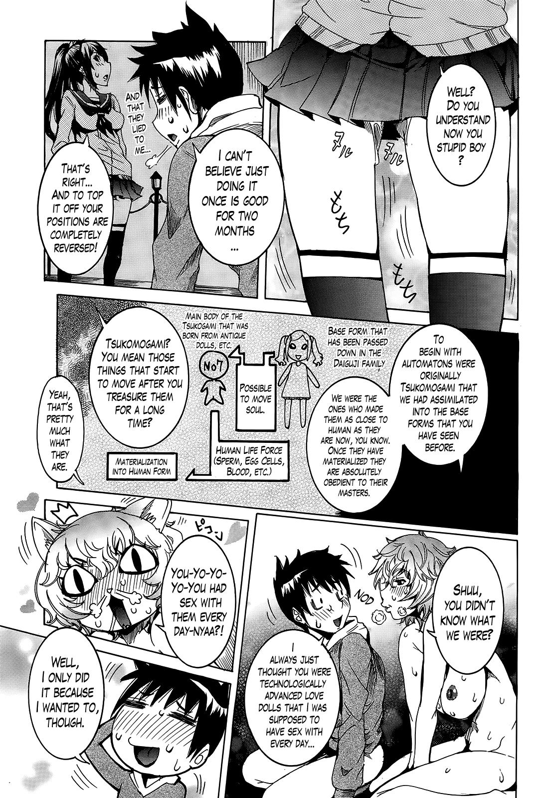 [Nico Pun Nise] Chou Saisentan Kanojo | Super Cutting-Edge Girlfriend Ch. 1-7 [English] [Lazarus H] 128