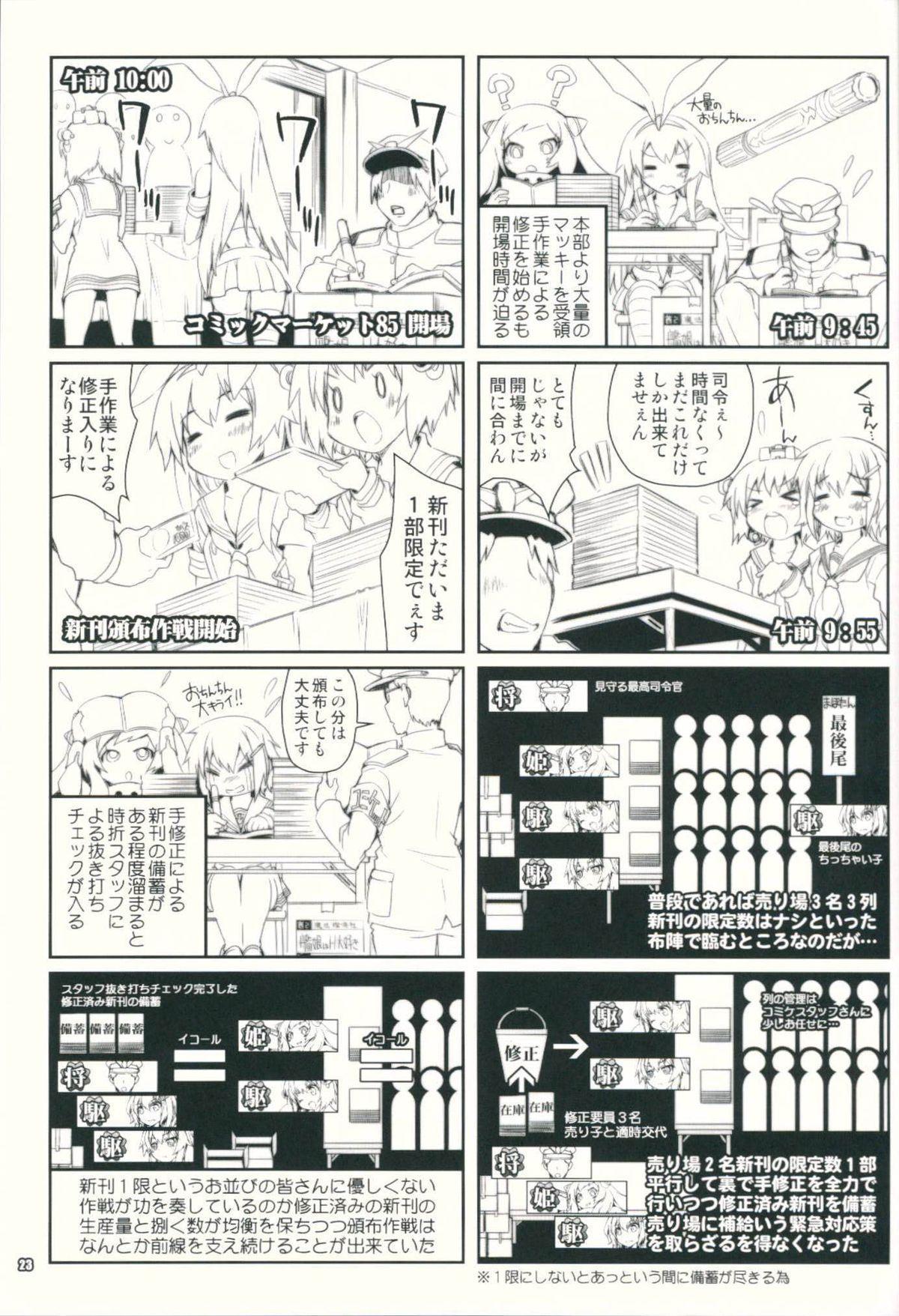 Kanmusu wa H Daisuki 3 Doko Fuku Shimakaze Amatsukaze 21