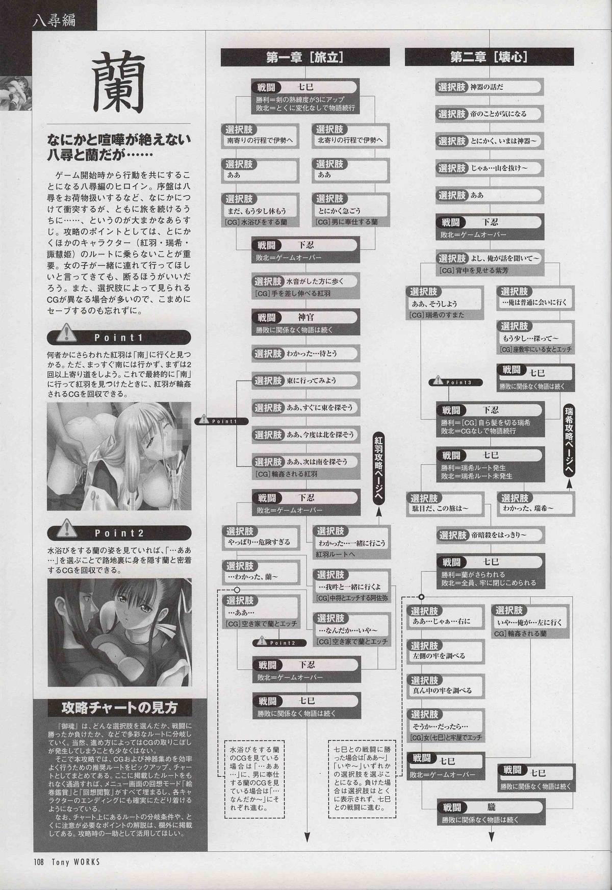 御魂~忍~×ARCANA~光と闇のエクスタシス~二作品原画 112