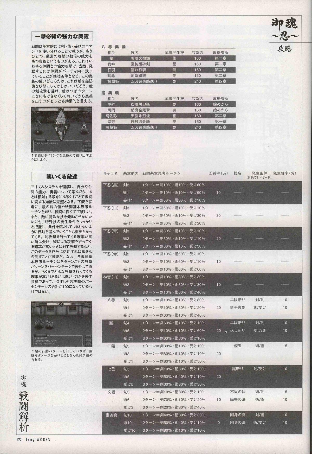 御魂~忍~×ARCANA~光と闇のエクスタシス~二作品原画 126