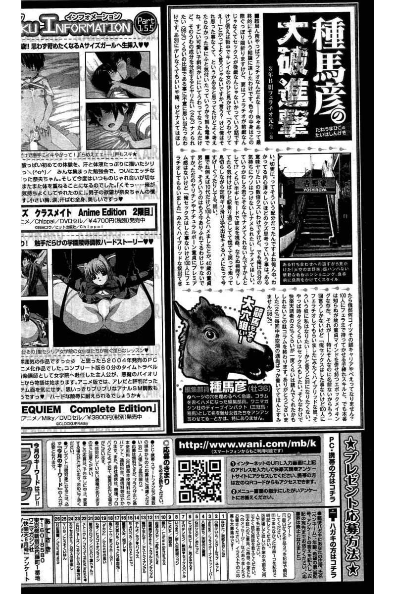 COMIC Kairakuten 2016-06 397
