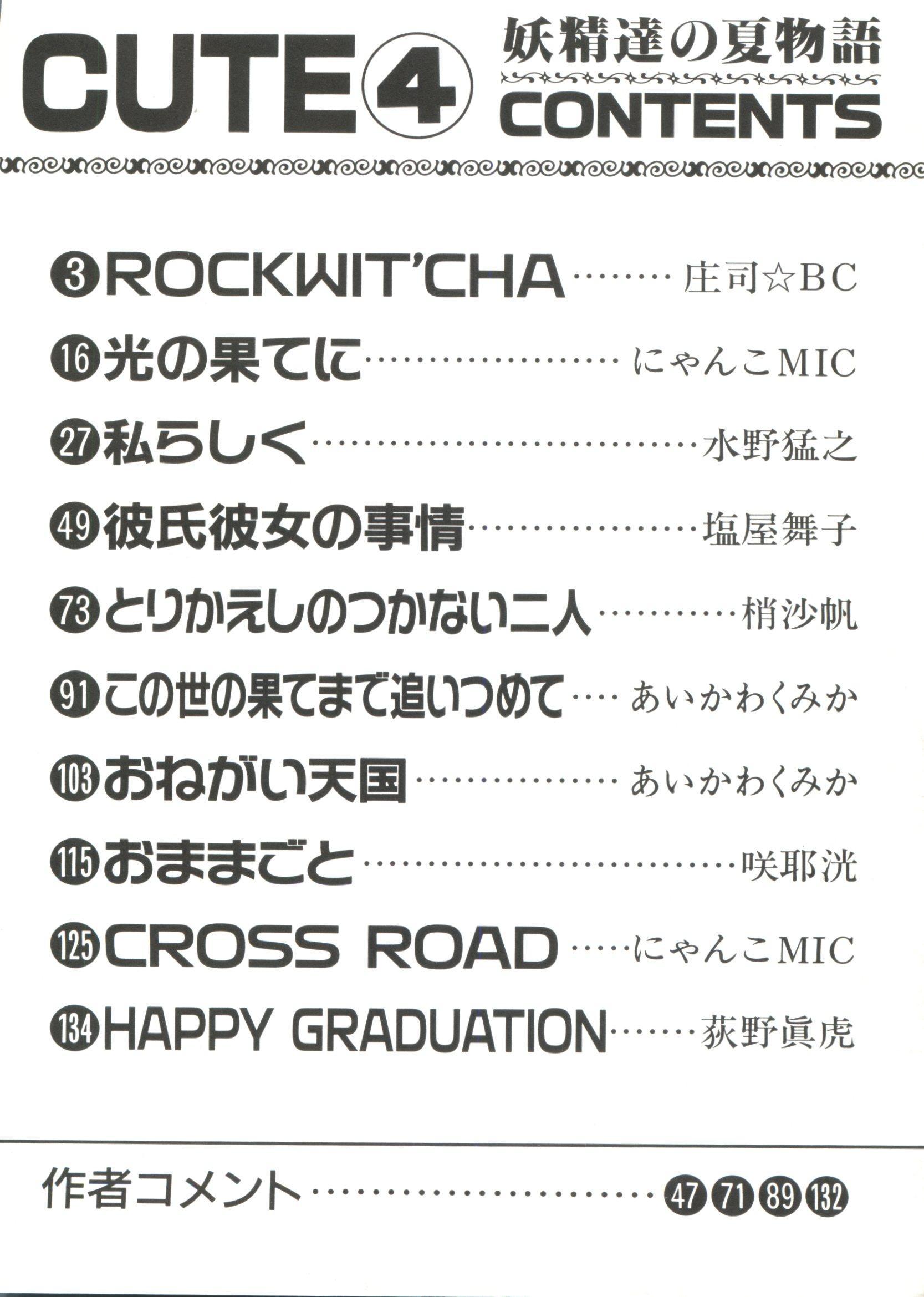 Bishoujo Doujinshi Anthology Cute 4 3