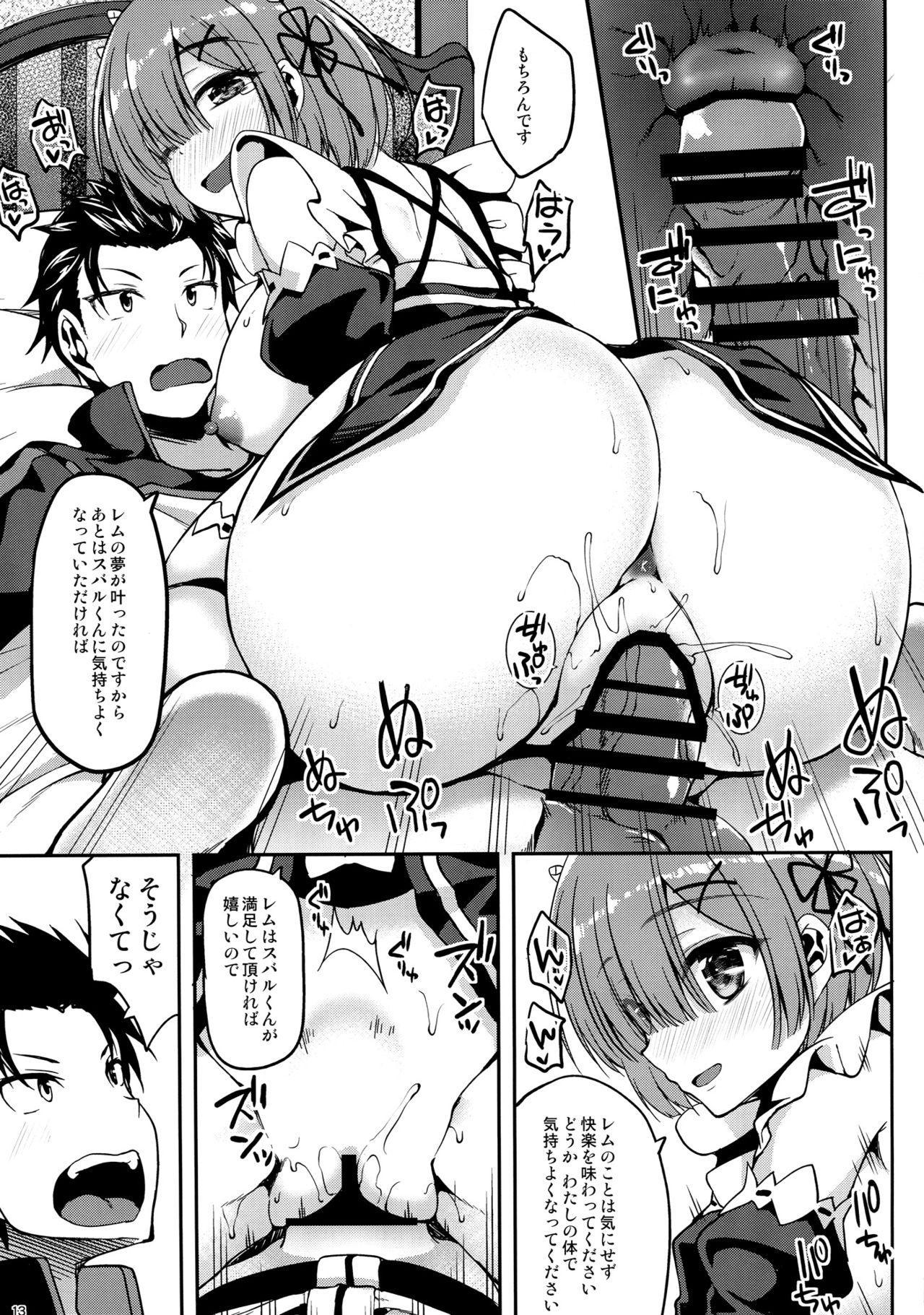Zero kara Hajimeru Rem to no Sei Seikatsu 11