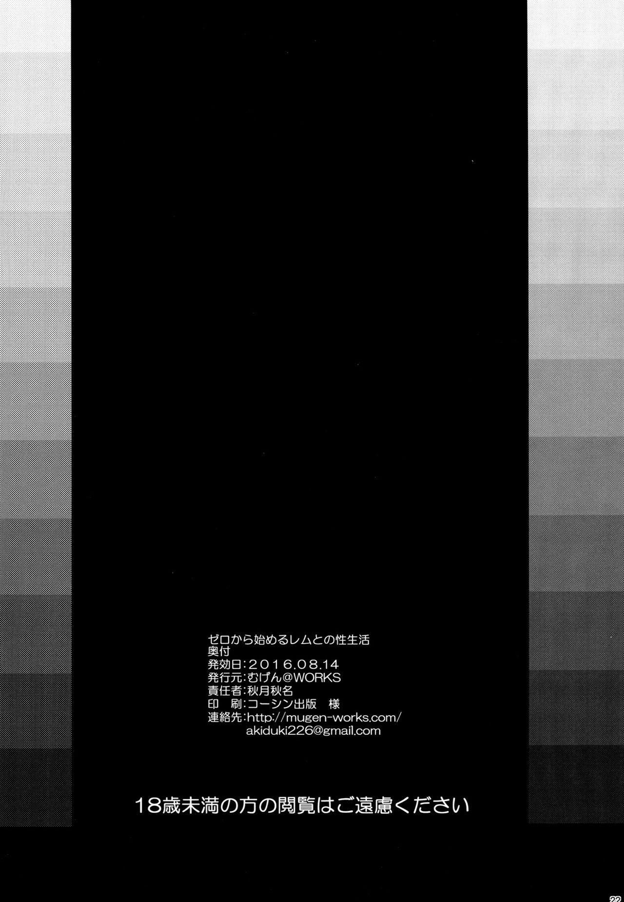 Zero kara Hajimeru Rem to no Sei Seikatsu 19
