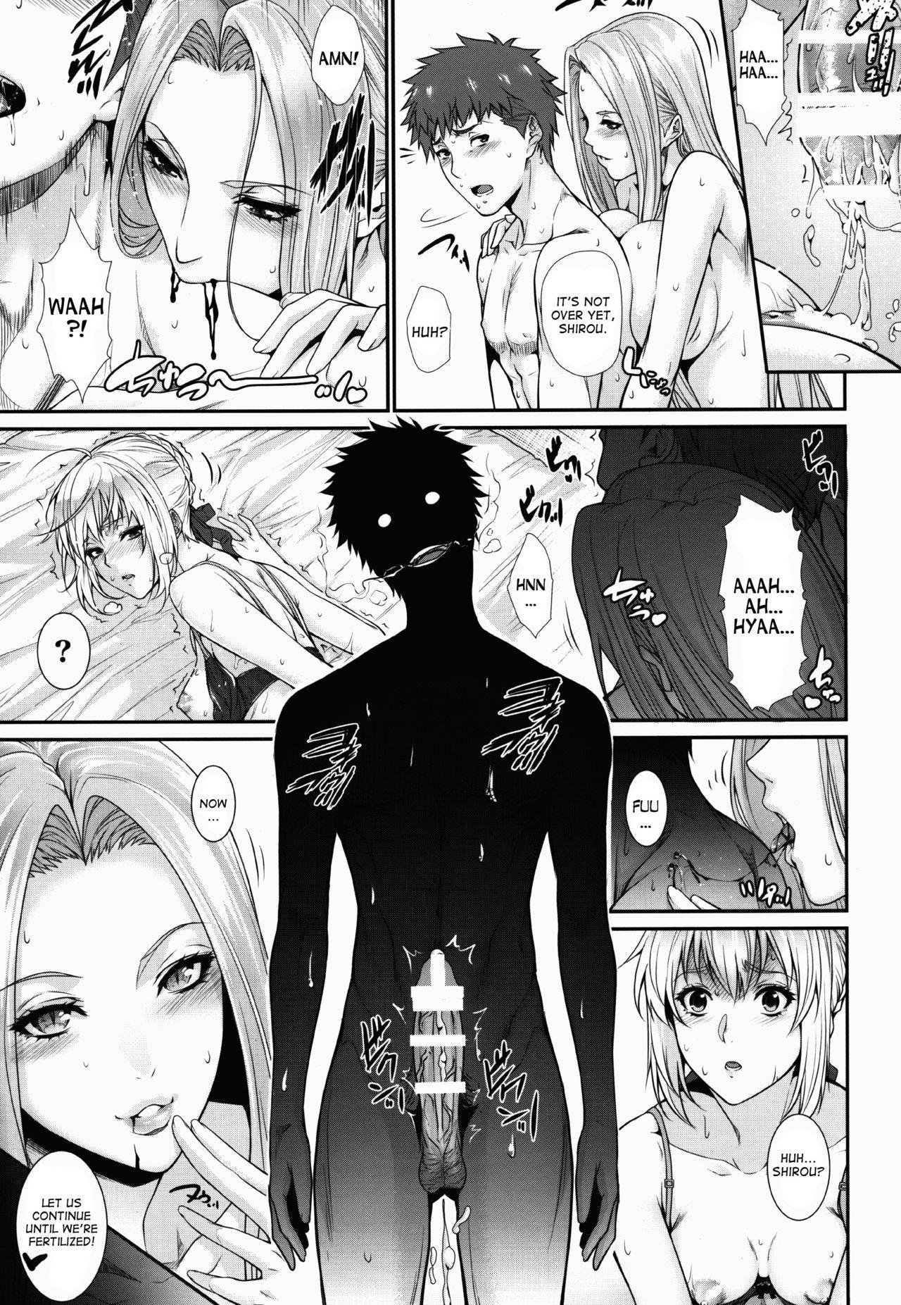 Shirou-kun Harem!! Servant Hen 24