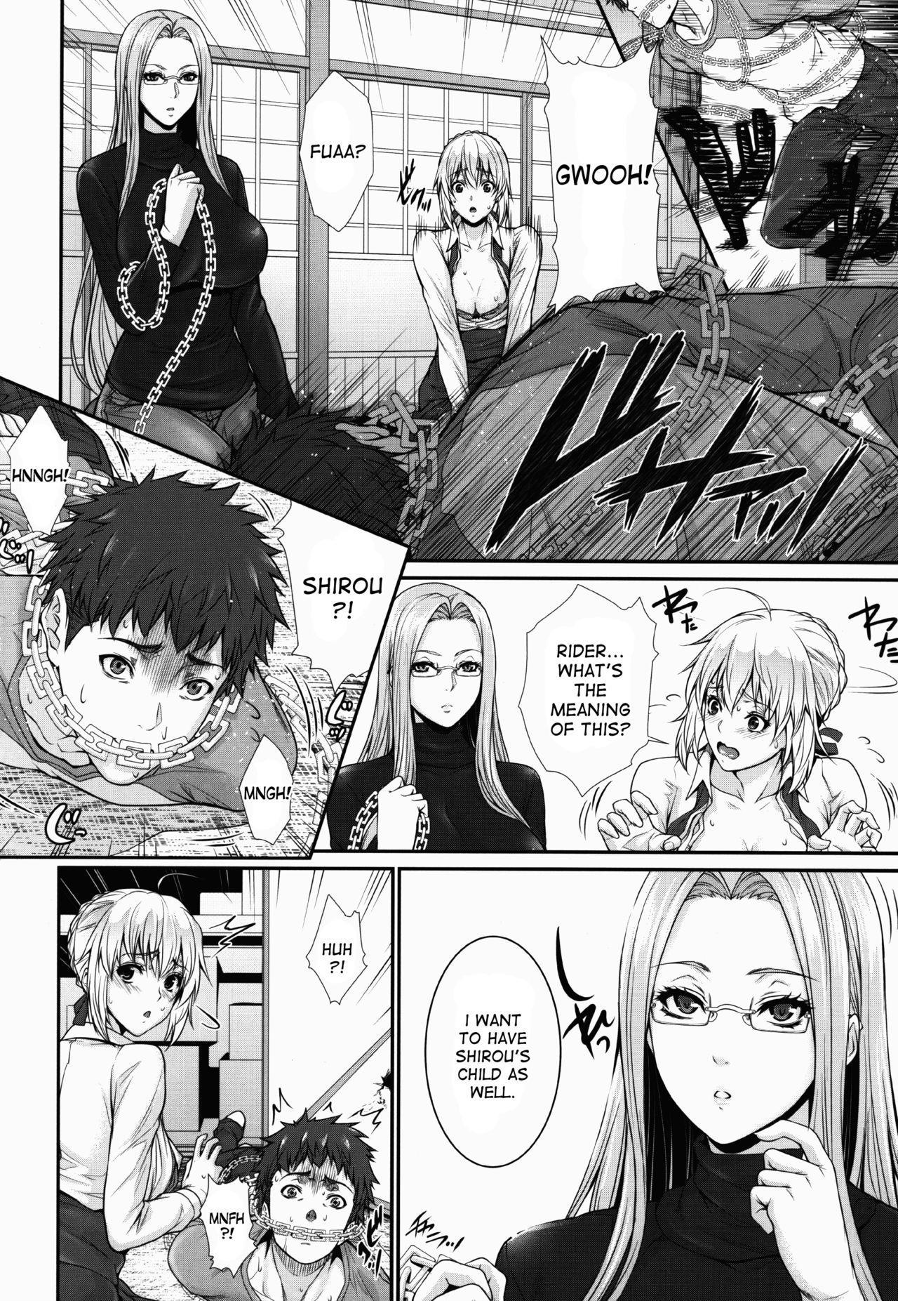 Shirou-kun Harem!! Servant Hen 7