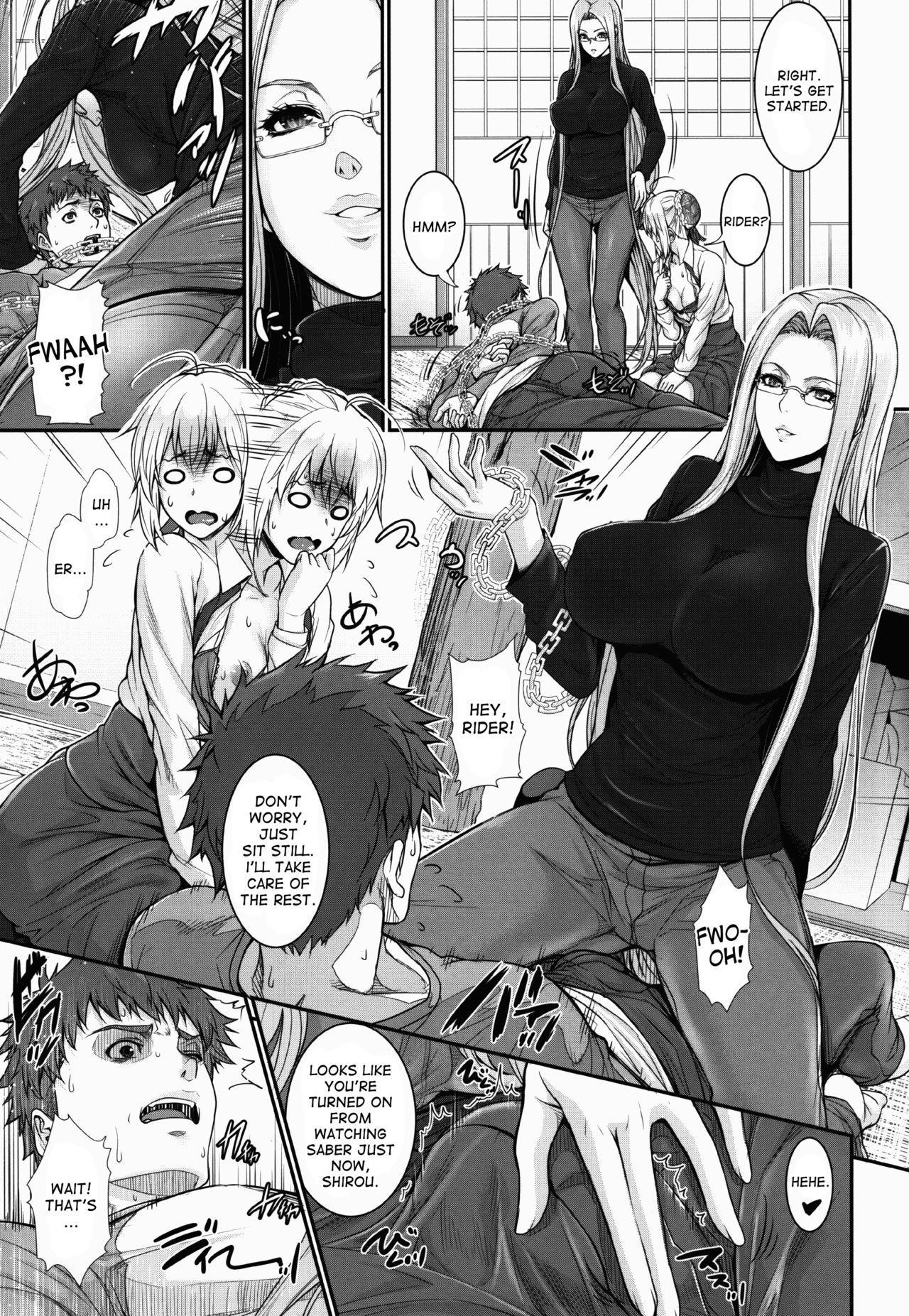 Shirou-kun Harem!! Servant Hen 8