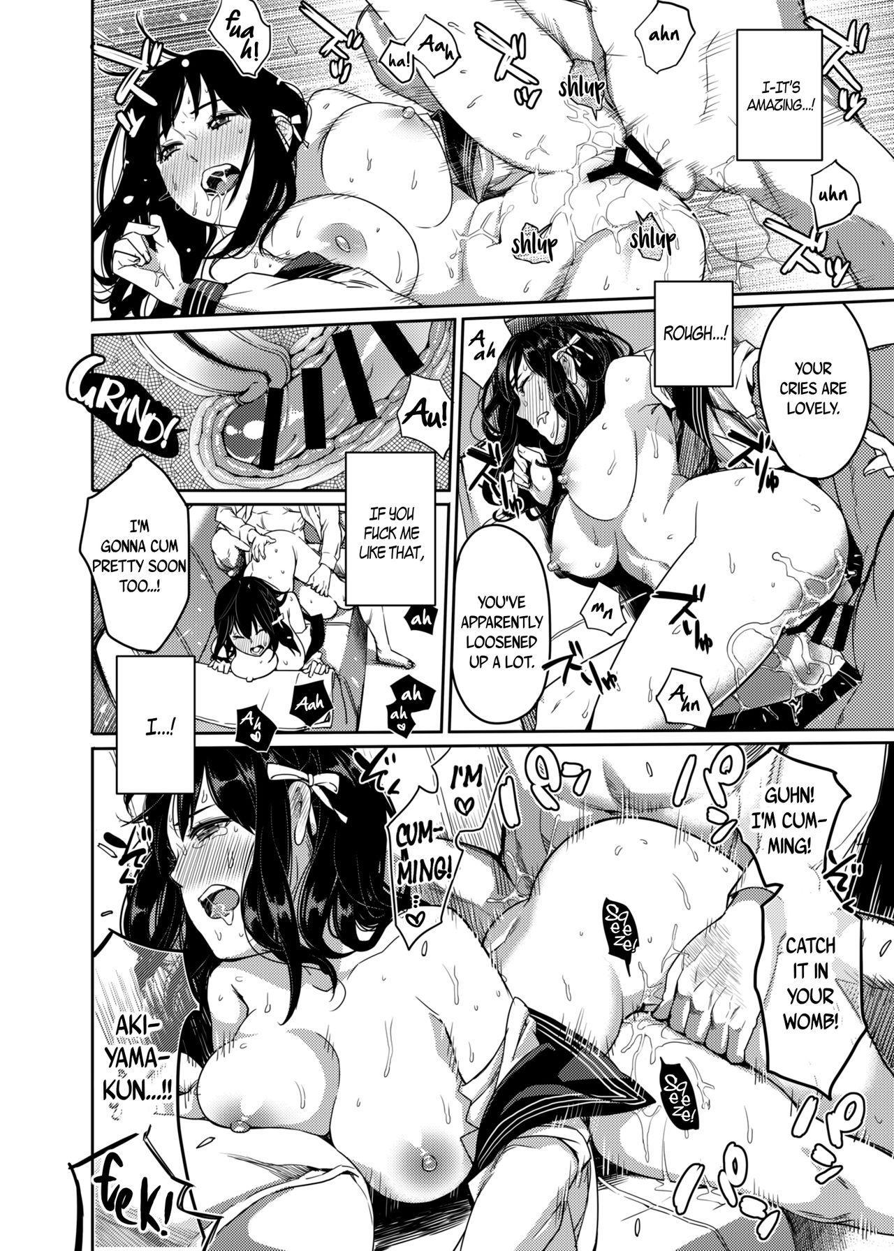[Issun Kobo (Sukunahiko)] Houkago Doll - Akiyama Mari no Hamerare Kata | After-School Doll – How Akiyama Mari Gets Fucked [English] [B.E.C. Scans] [Digital] 18