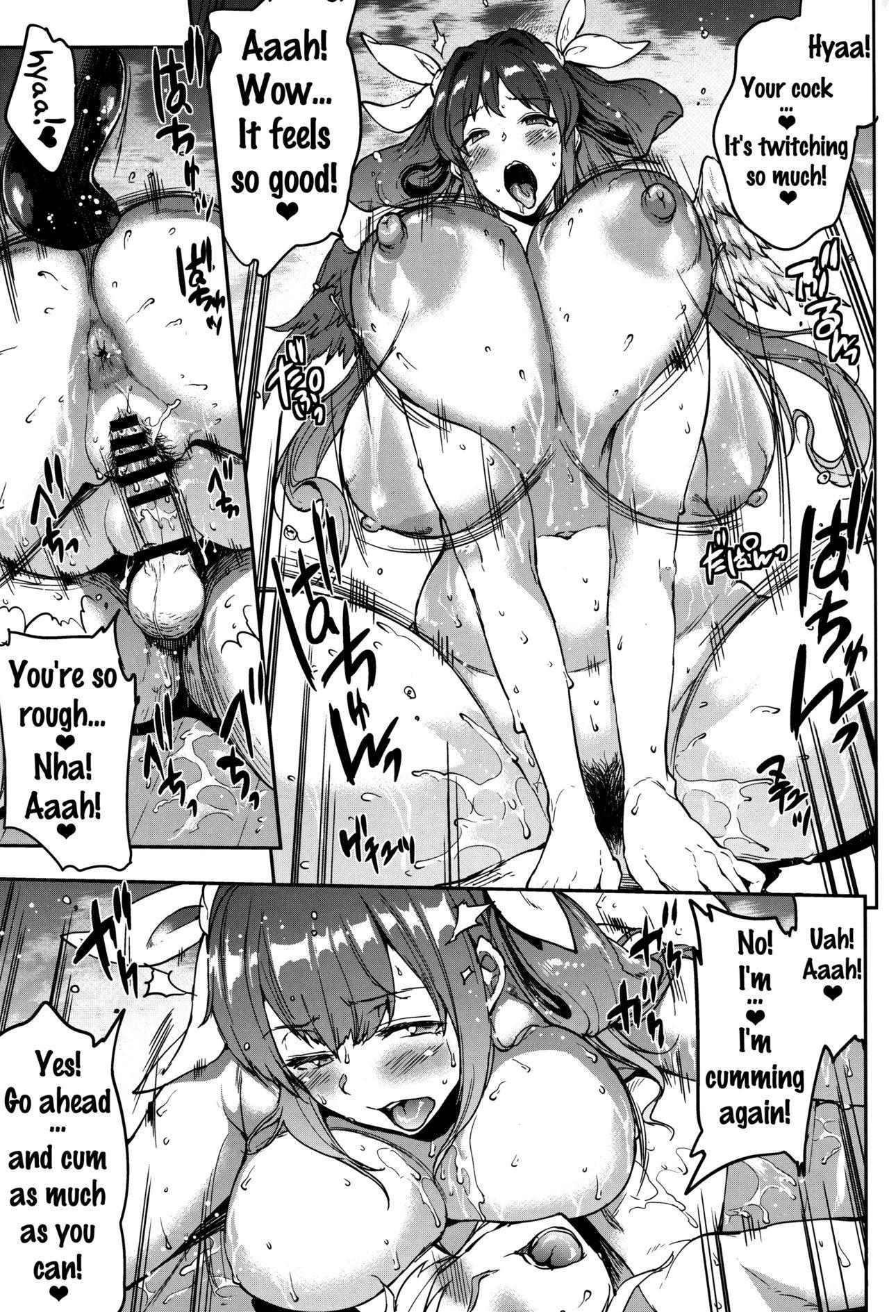 (C91) [ERECT TOUCH (Erect Sawaru)] Osanazuma Bakunyuu Nurunuru Soap-jou | Big-Breasted Soapy Massage Giving Young Wife (Guilty Gear) [English] {doujins.com} 19
