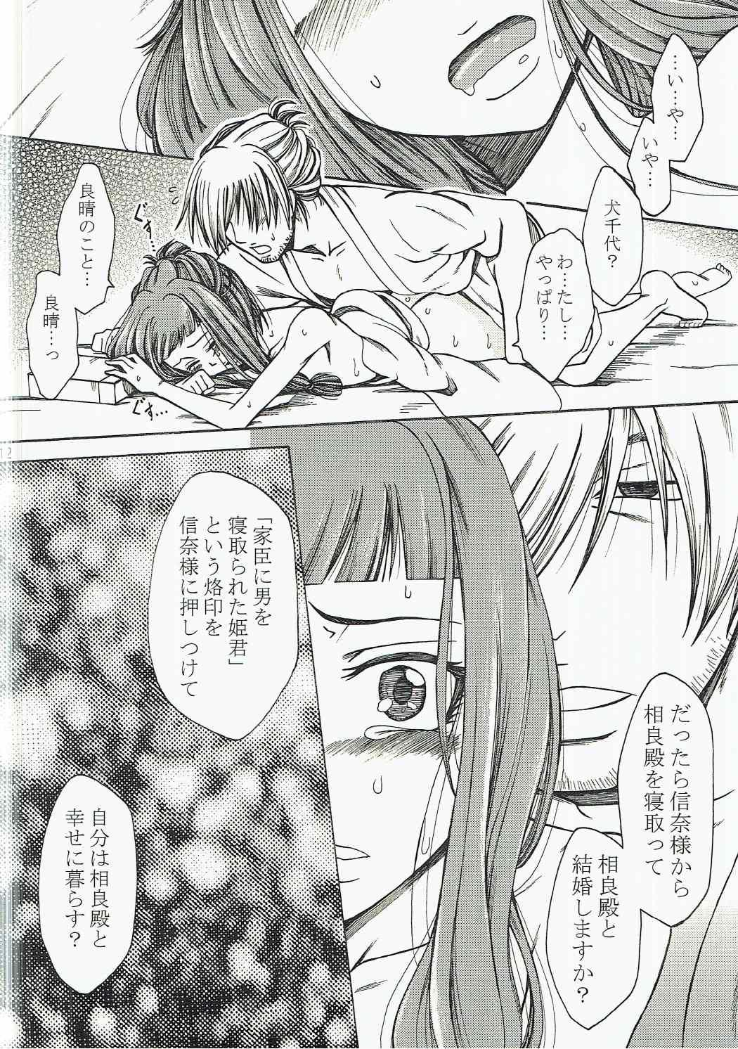 Inuchiyo-chan ga Yoshiharu janai Otoko to Kekkon suru Hon. 10