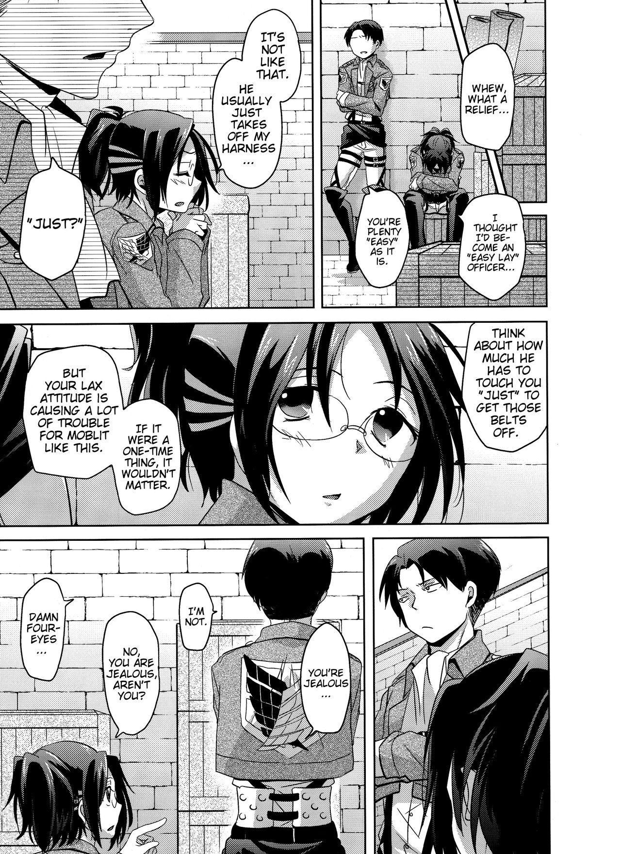 Shikkari shite kudasai Buntaichou. | Please take this seriously, Squad Leader. 14