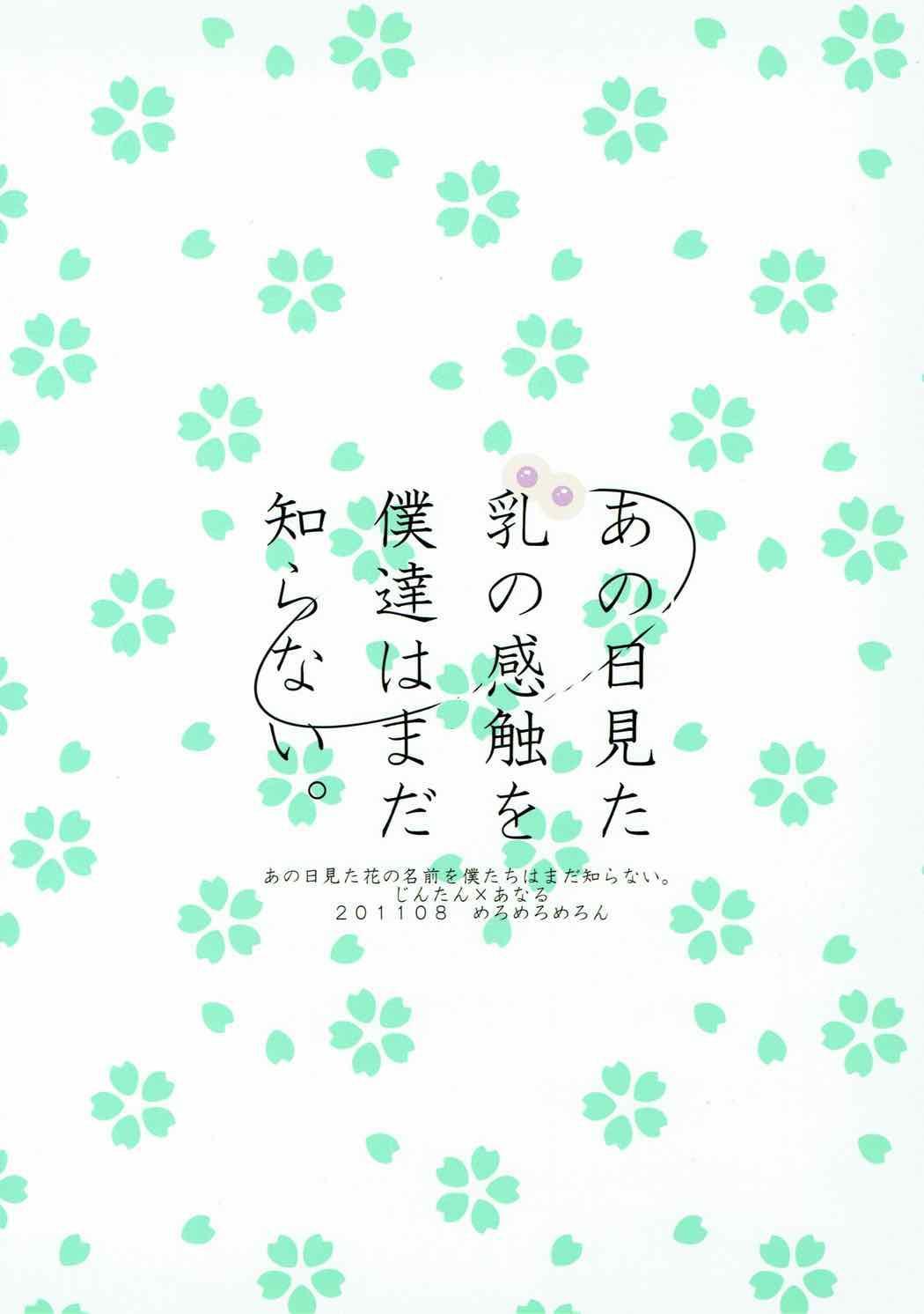 Ano Hi Mita Chichi no Kanshoku o Bokutachi wa Mada Shiranai. 25