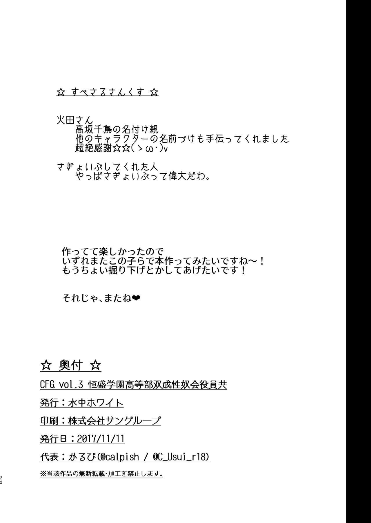 CFG Vol. 3 20