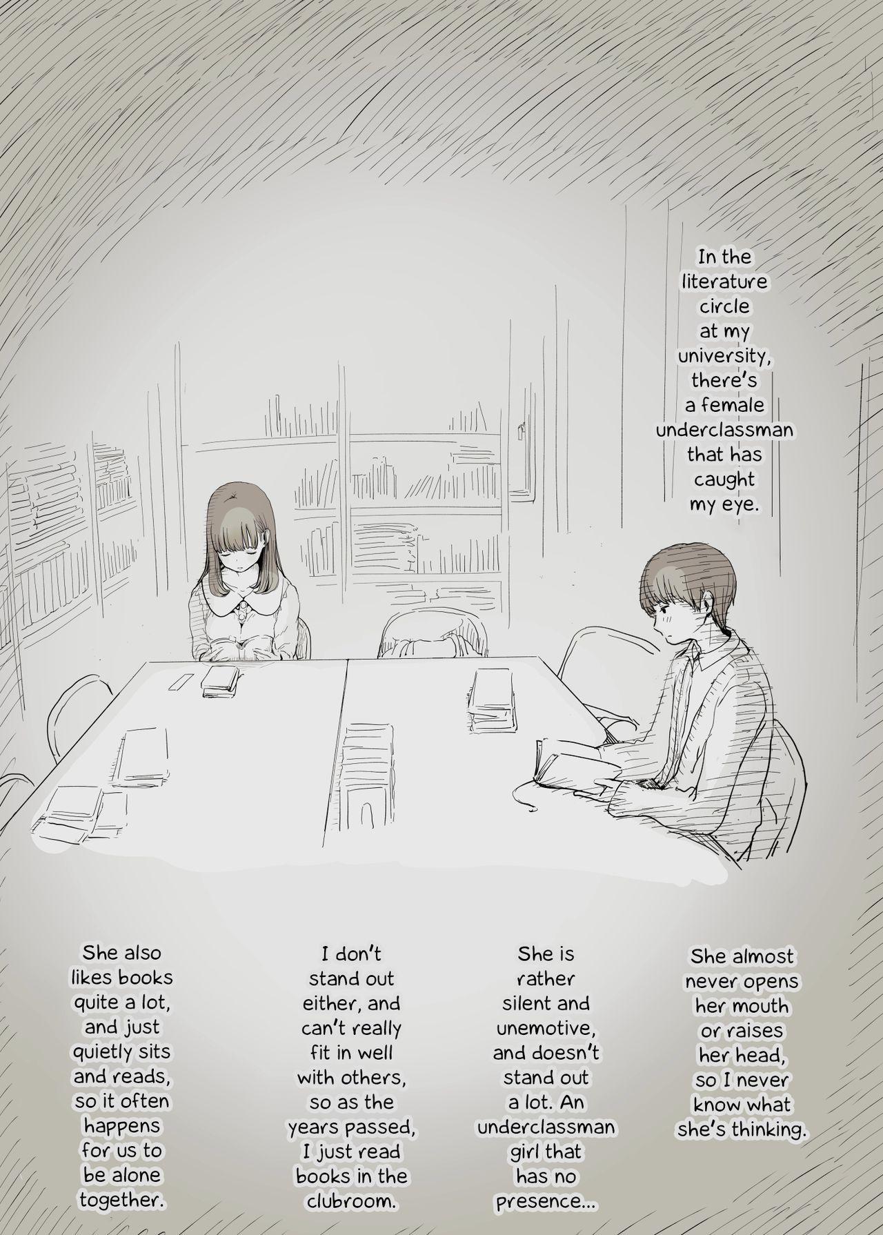 Bungaku Joshi ni Taberareru | Eaten Up by the Bookworm Girl 1