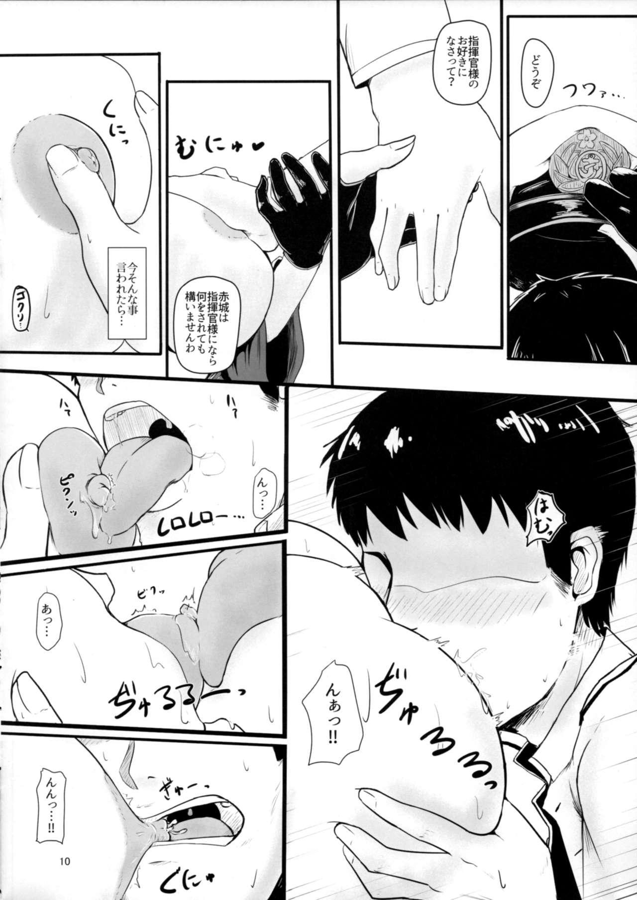 Teitoku wa Yandere Akagi ni Rouraku Sarete Shikikan-sama ni Narimashita. 8