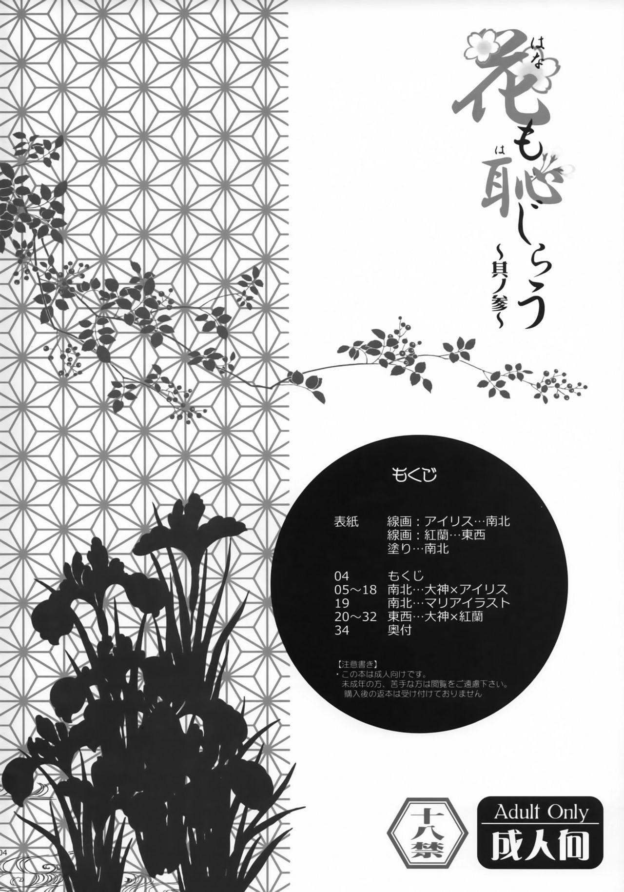 Hana mo Hajirau 3