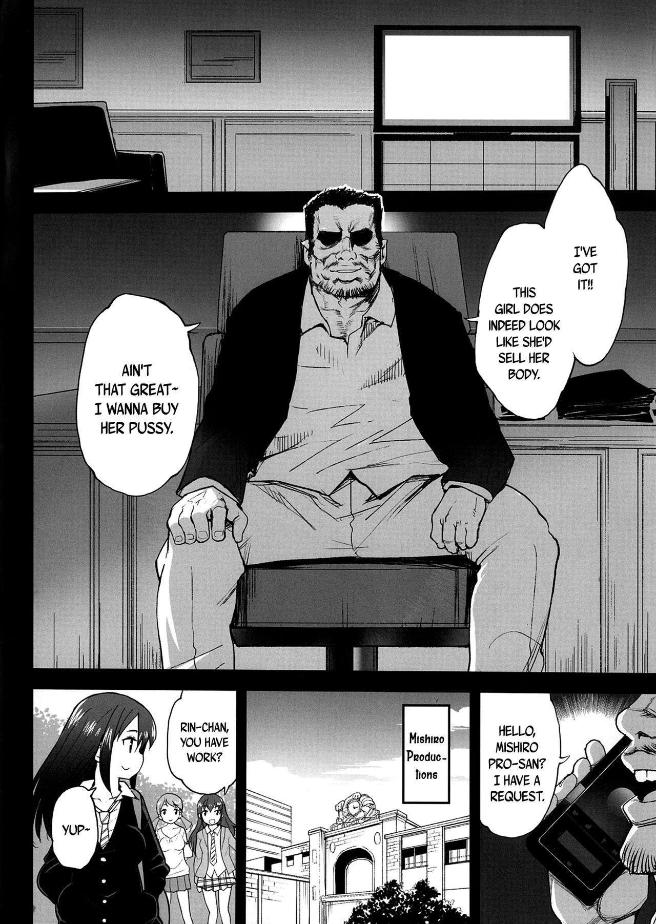 [Eromazun (Ma-kurou)] Shibuya Rin, Ochiru ~Ossan ga Shibuya Rin to Enkou Sex~   Shibuya Rin Falls ~An Old Guy Has Paid Sex With Shibuya Rin~ (THE IDOLM@STER CINDERELLA GIRLS) [English] [B.E.C. Scans] [Digital] 2