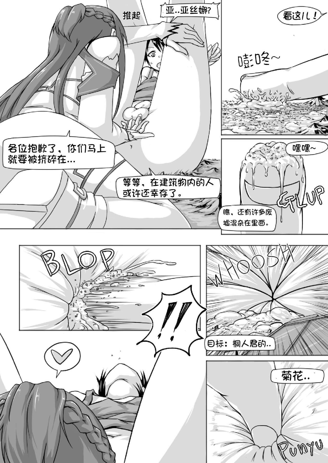 Size Henkou de Asuna ga Yaritai Houdai Online | 体型变化任性的亚丝娜网络游戏 6
