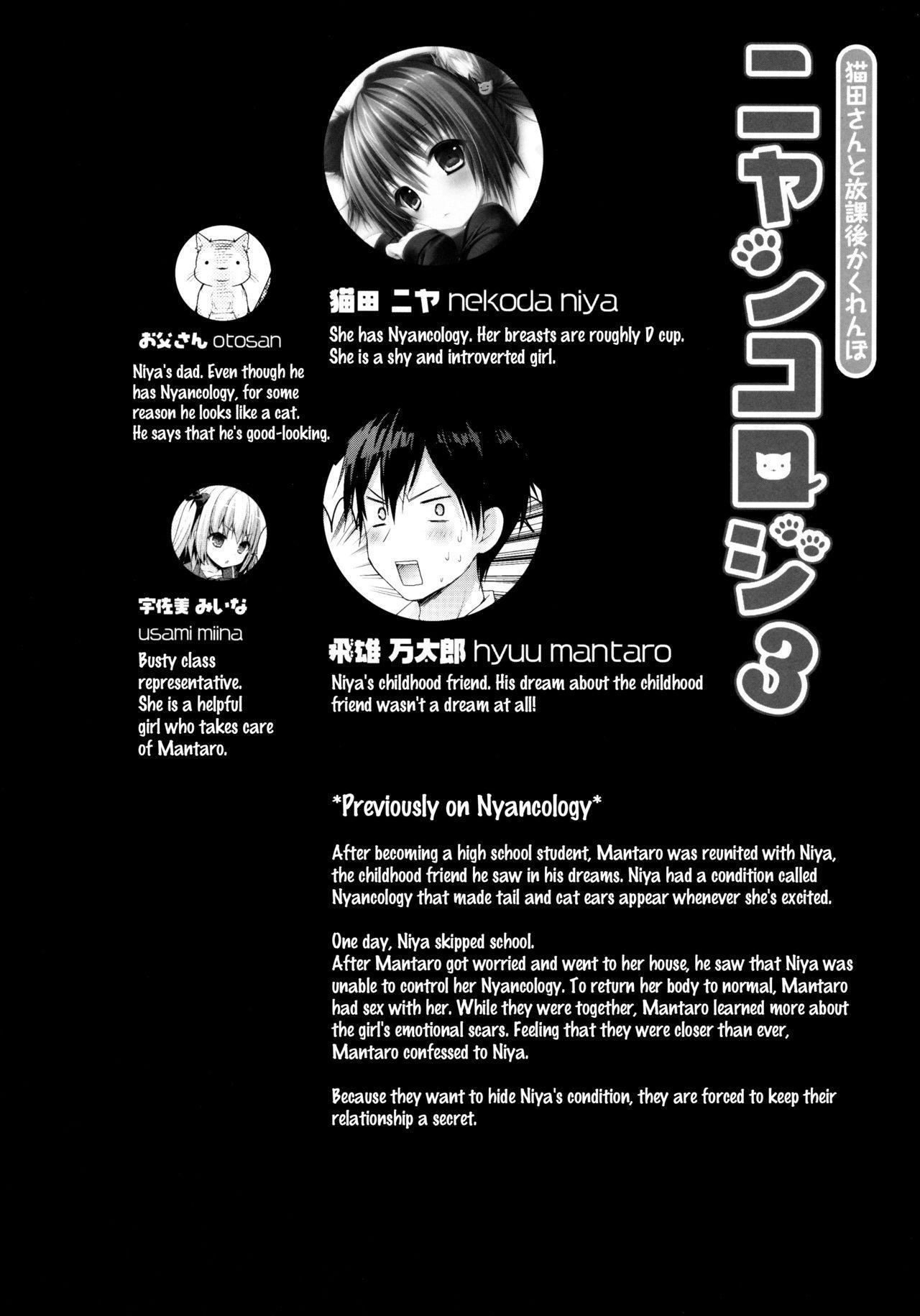(Mimiket 30) [Kinokonomi (konomi)] Nyancology 3 -Nekota-san to Houkago Kakurenbo- | Nyancology 3 -After School Hide and Seek With A Catgirl- [English] [Doujins.com] 3