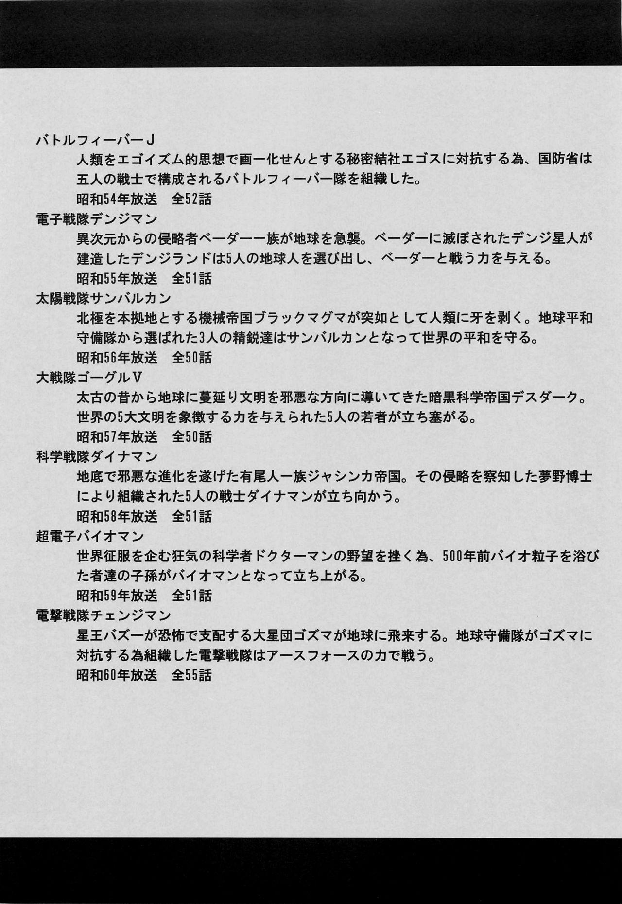 <<Tokusatsu>> Superheroine Sentai 80's 3