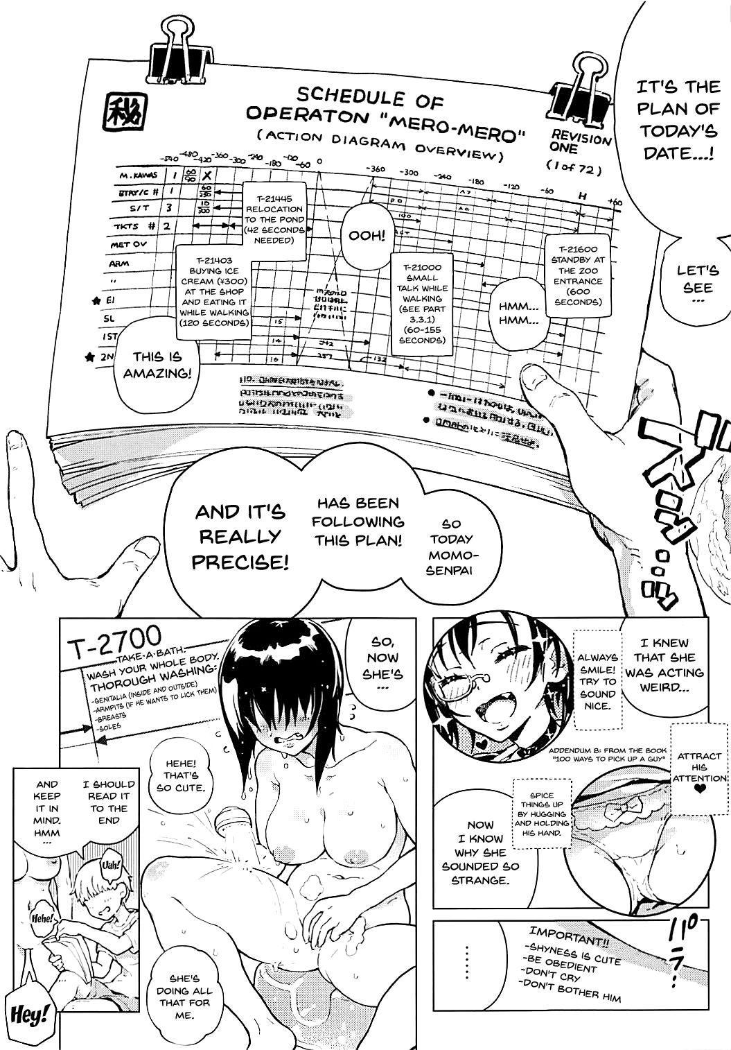 (Panzer Vor! 15) [Norinko] momon 2018-05 Hisshou Momo-chan Senpai no Perfect Date Plan (Girls und Panzer) [English] {Doujins.com} 4