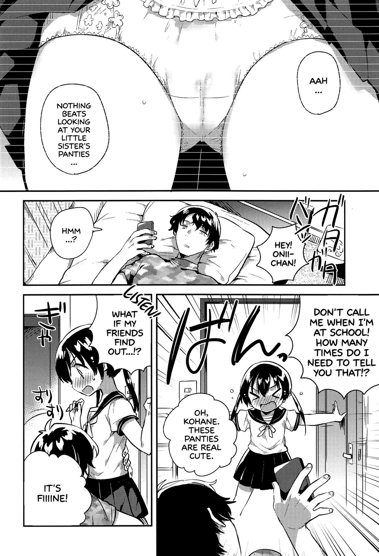Imouto to Sex Suru nante Kimochi Warui | Having Sex With Your Little Sister? That's Gross! 4