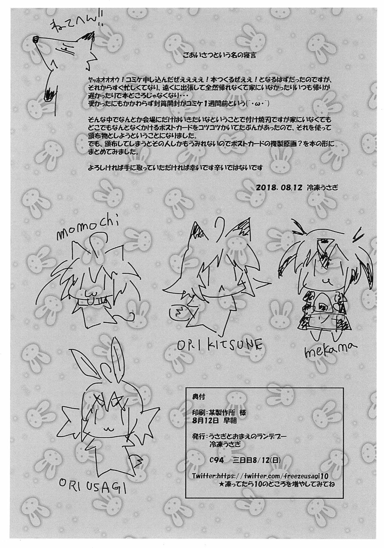 Nyan-na Postcard Fukusei Genga Matome 17