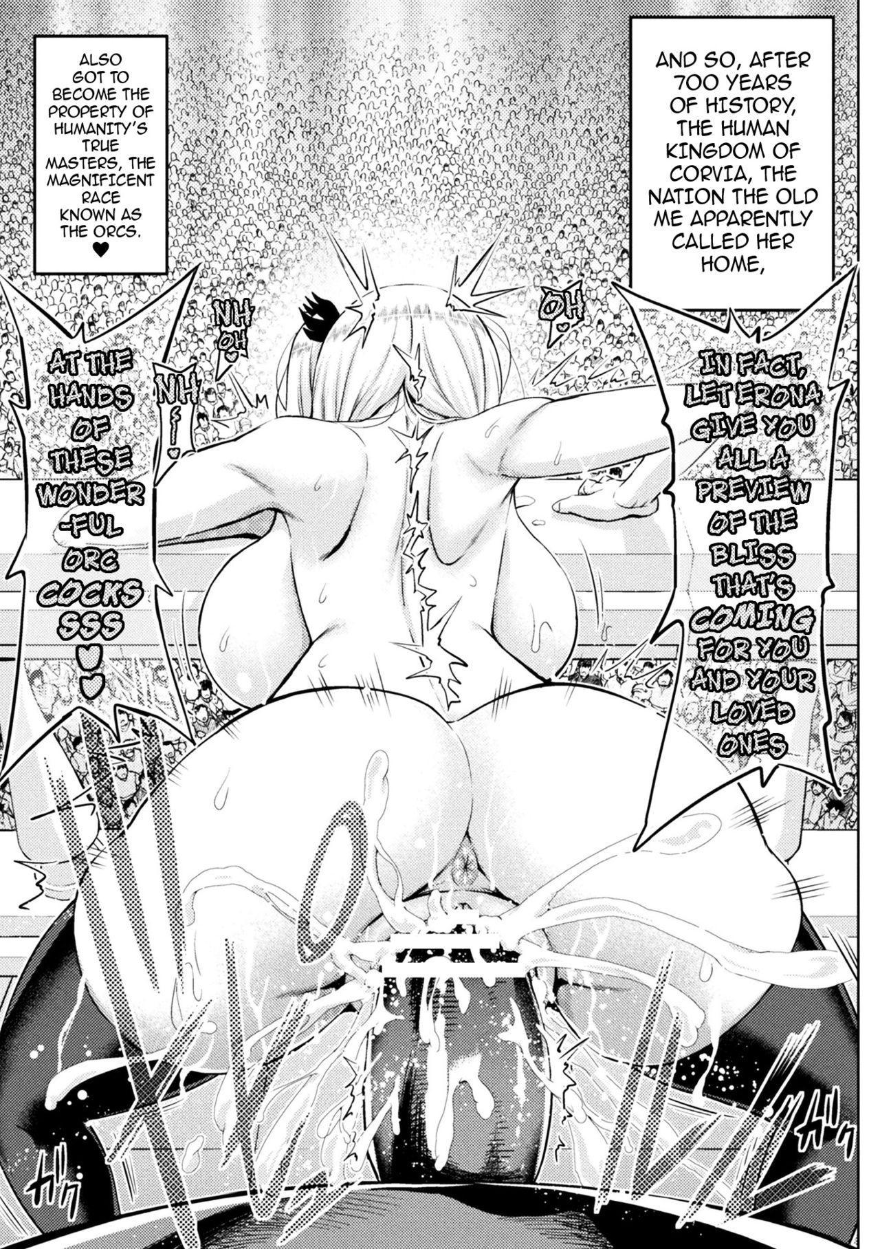 [Yamada Gogogo] Erona ~Orc no Inmon ni Okasareta Onna Kishi no Matsuro~ | Erona ~The Fall of a Beautiful Knight Cursed with the Lewd Mark of an Orc~ [English] {darknight} 103