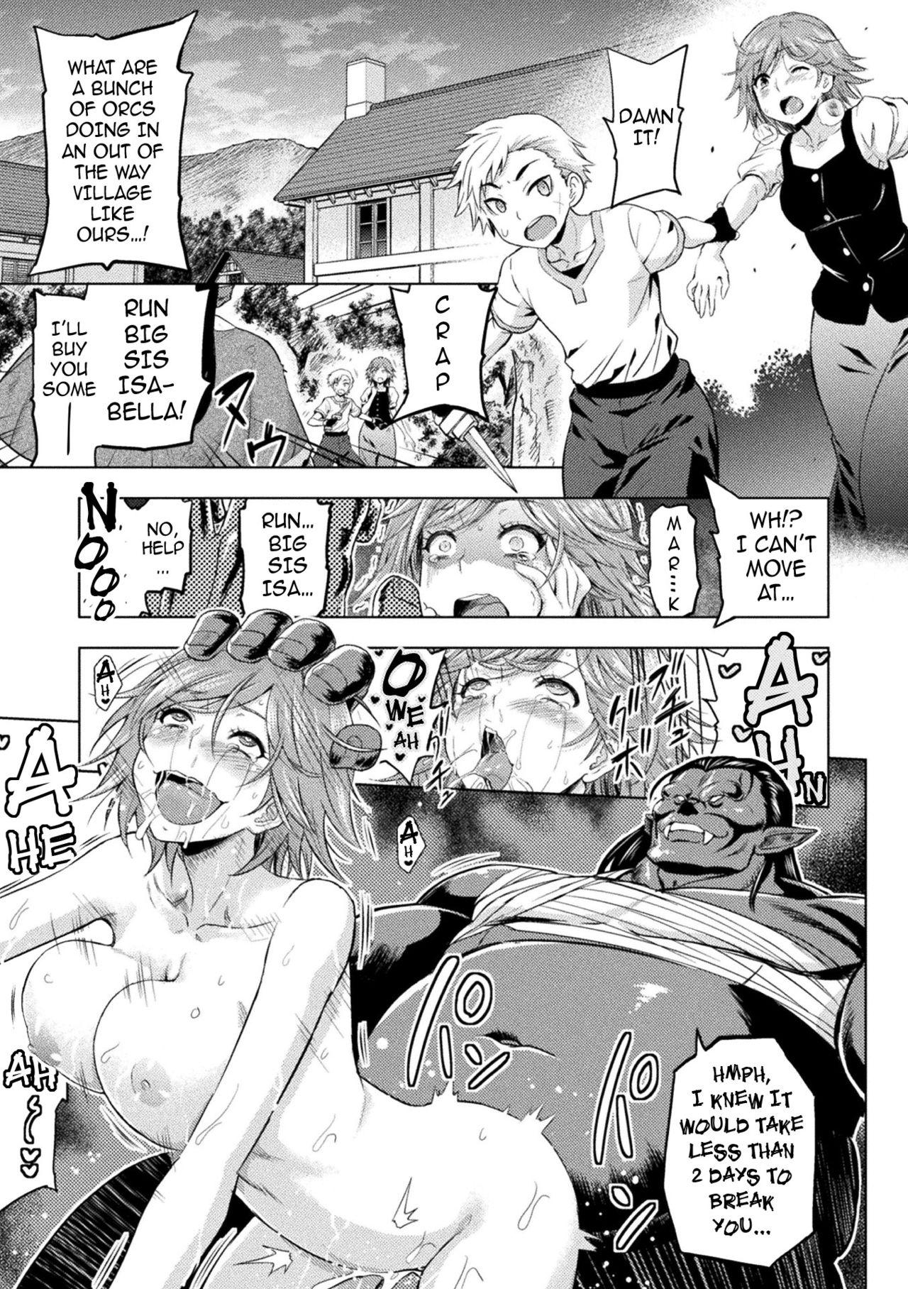 [Yamada Gogogo] Erona ~Orc no Inmon ni Okasareta Onna Kishi no Matsuro~ | Erona ~The Fall of a Beautiful Knight Cursed with the Lewd Mark of an Orc~ [English] {darknight} 153