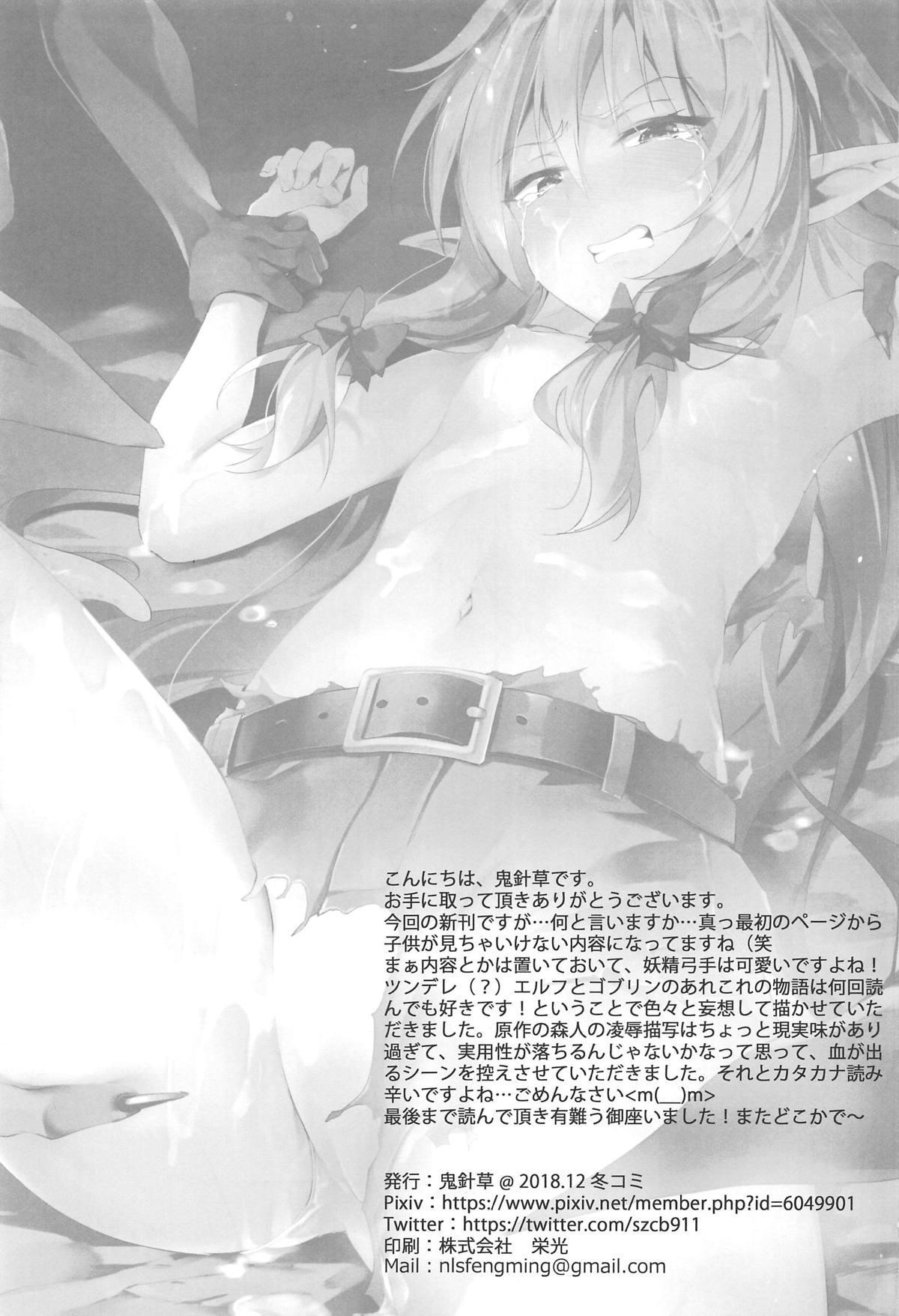 Moshi Onna Seirei ga Goblin ni Tsukamattara... 23