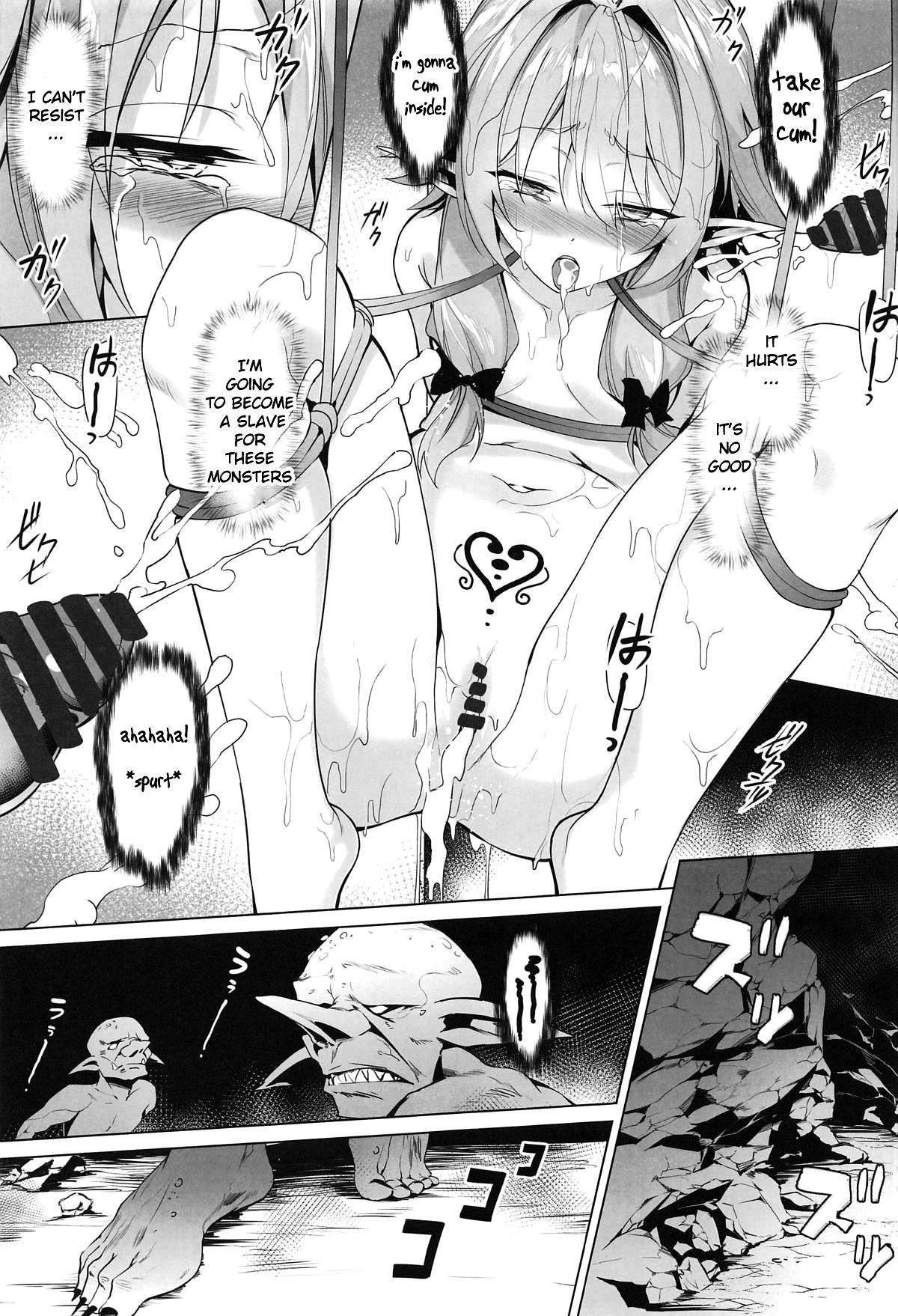 Moshi Onna Seirei ga Goblin ni Tsukamattara... 15
