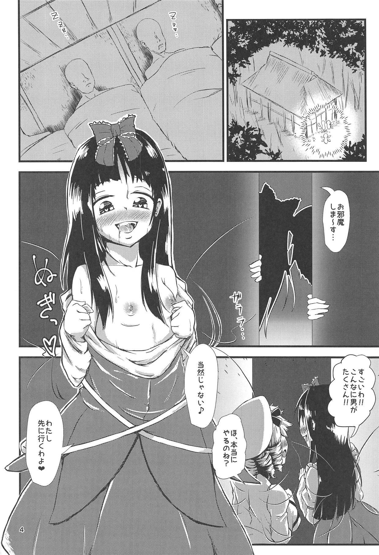Gensoukyou Ero Nouryoku-ka Ihen V Yousei Dairankou 2