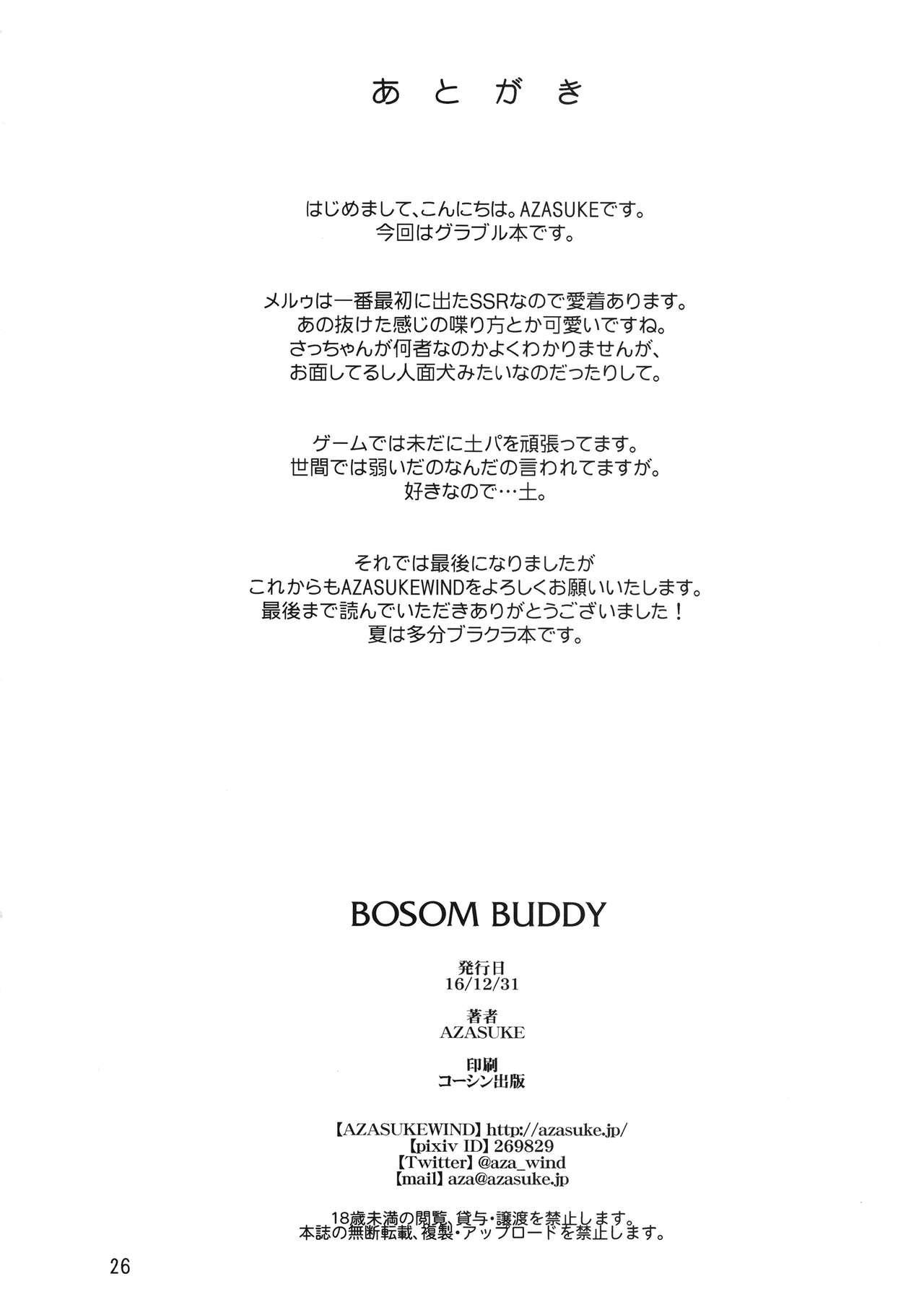 BOSOM BUDDY 24