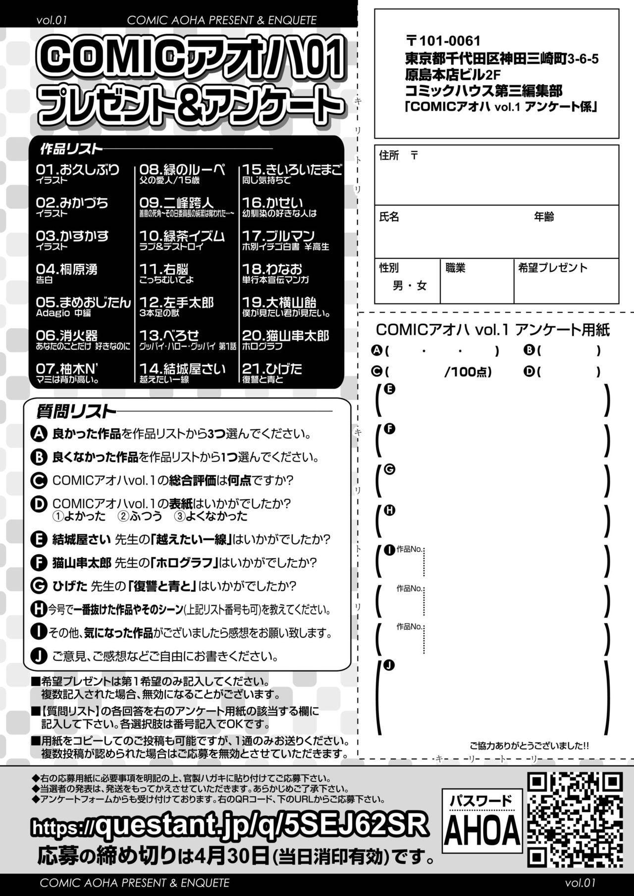 COMIC AOHA 2019 Haru 487