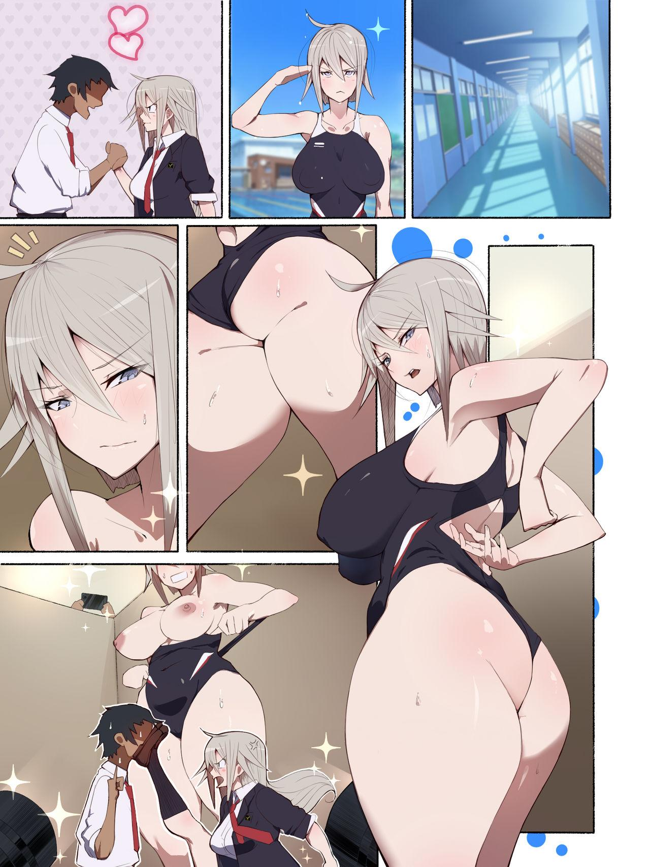 [Aikokusha (Agobitch Nee-san)] Seifuku Bishoujo 2gakki Ee!? Oshiri ni Koishiteru? Cheer Girl-chan to Dosukebe na Onnanoko-tachi dattee? 57