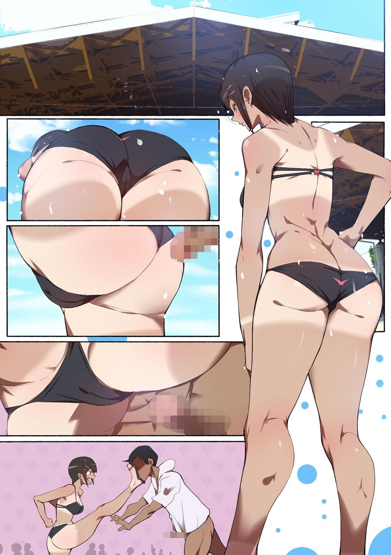 [Aikokusha (Agobitch Nee-san)] Seifuku Bishoujo 2gakki Ee!? Oshiri ni Koishiteru? Cheer Girl-chan to Dosukebe na Onnanoko-tachi dattee? 78