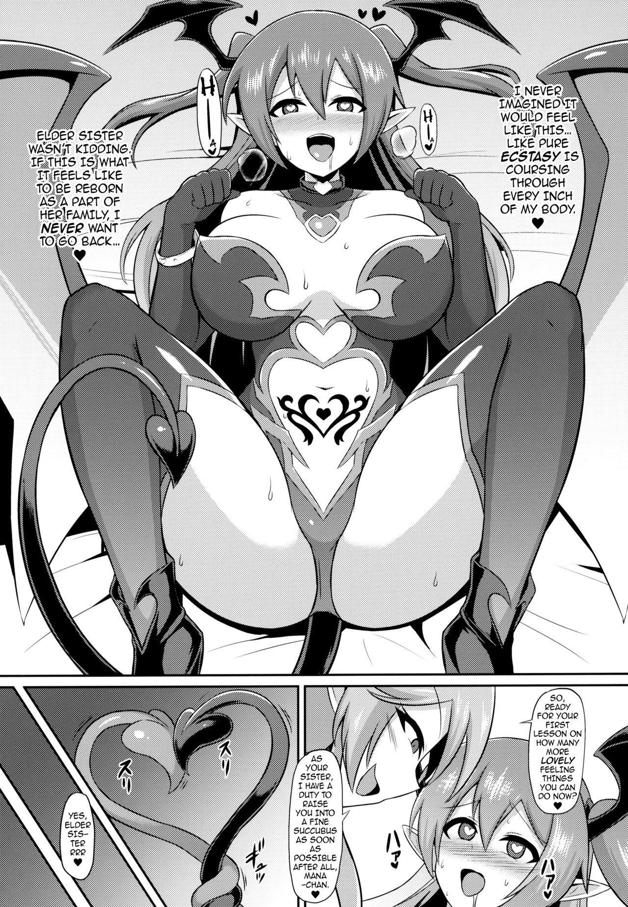 Les Inma no Inmon Kairaku Choukyou | A Lesbian Succubus's Lust Crest Pleasure Training 19