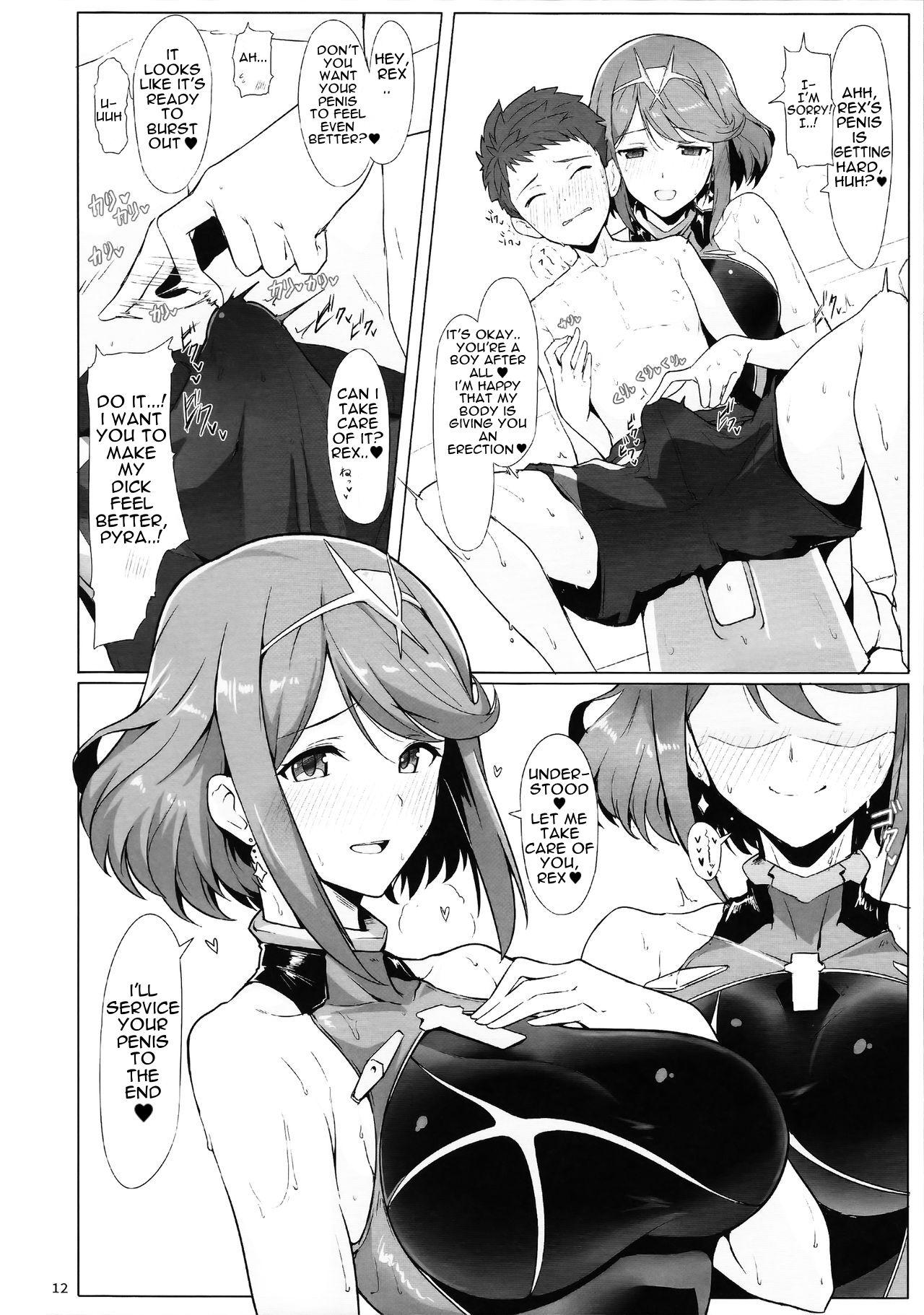 Ofuro de Homura to Sukebe Suru Hon   A Book About Doing Lewd Things in the Bath with Pyra 10