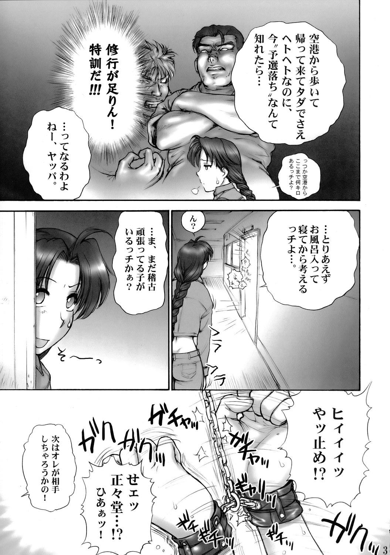 (SC29) [Shinnihon Pepsitou (St. Germain-sal)] Report Concerning Kyoku-gen-ryuu (The King of Fighters) 3
