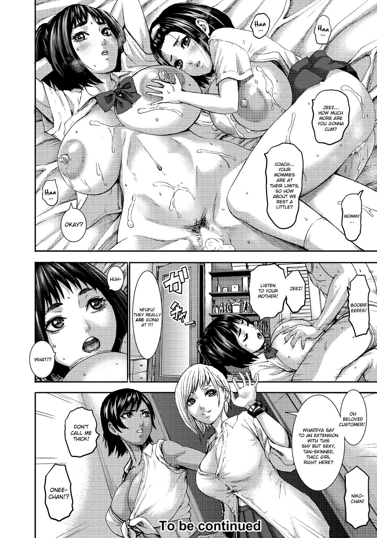 Chounyuu Gakuen   Academy For Huge Breasts Ch. 1-7 151