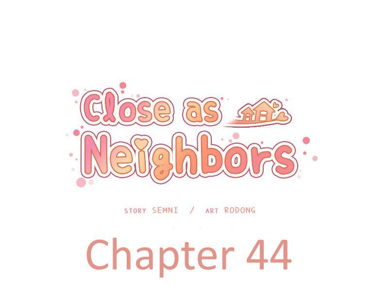 Close as Neighbors 1
