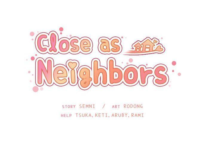 Close as Neighbors 355